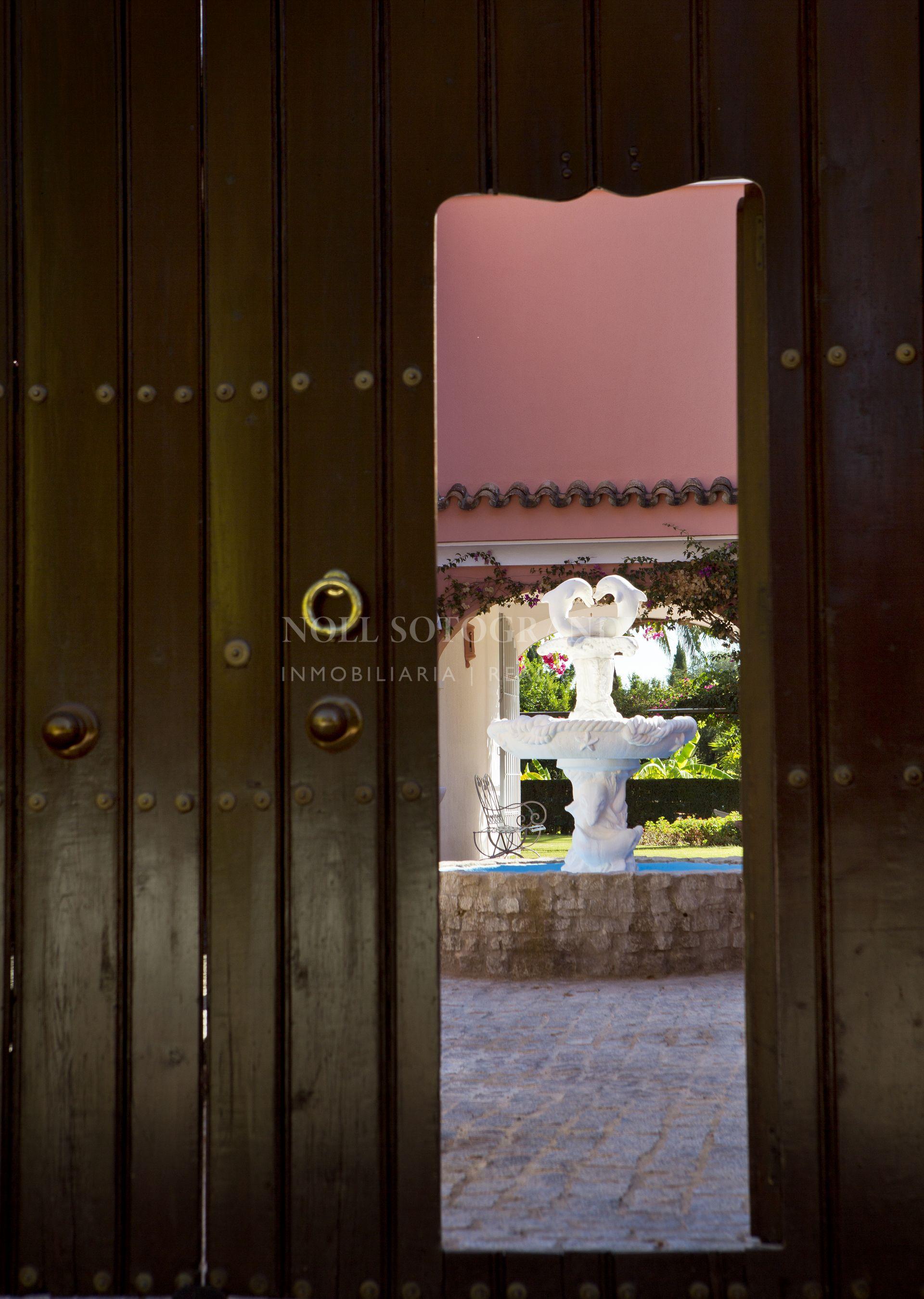 Sotogrande Costa, Traditional Andalucian Cortijo Villa for sale