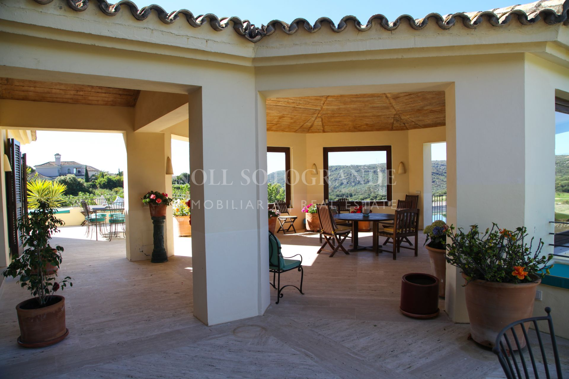 Front line golf Villa for sale Sotogrande Alto