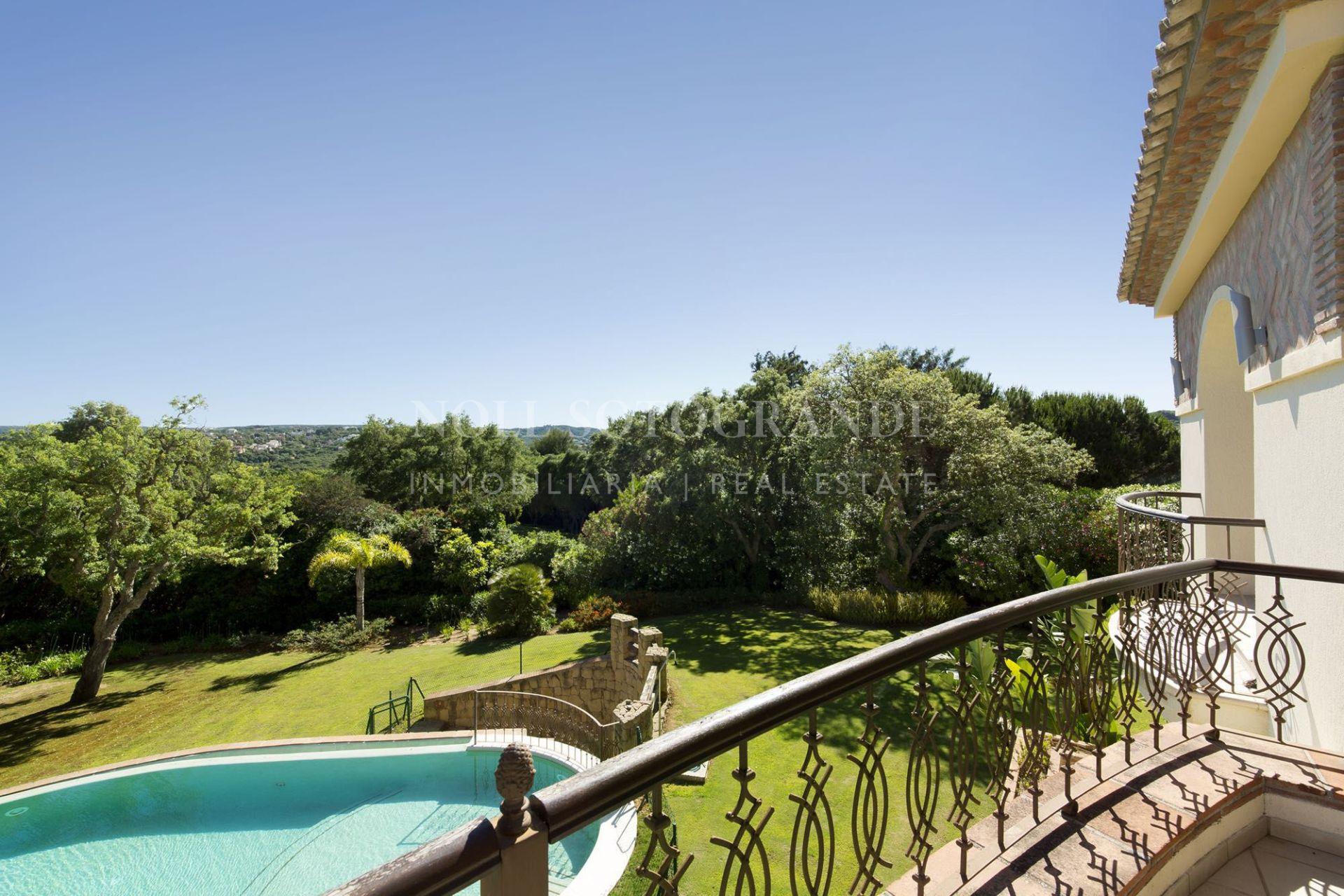 Sotogrande, Luxury Villa By Valderrama Golf Course for sale