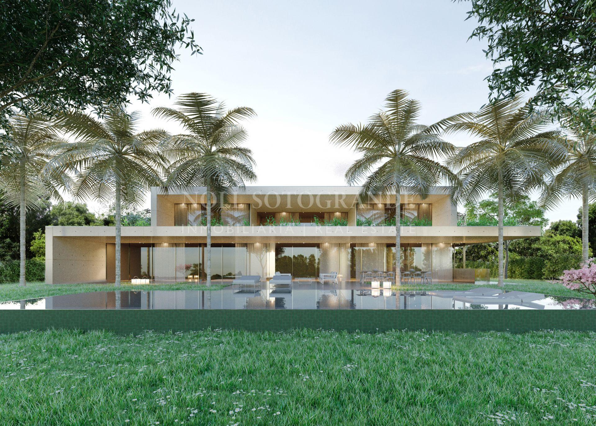 Luxury Gardens- Contemporary Villa- Sotogrande Los Altos de Valderrama