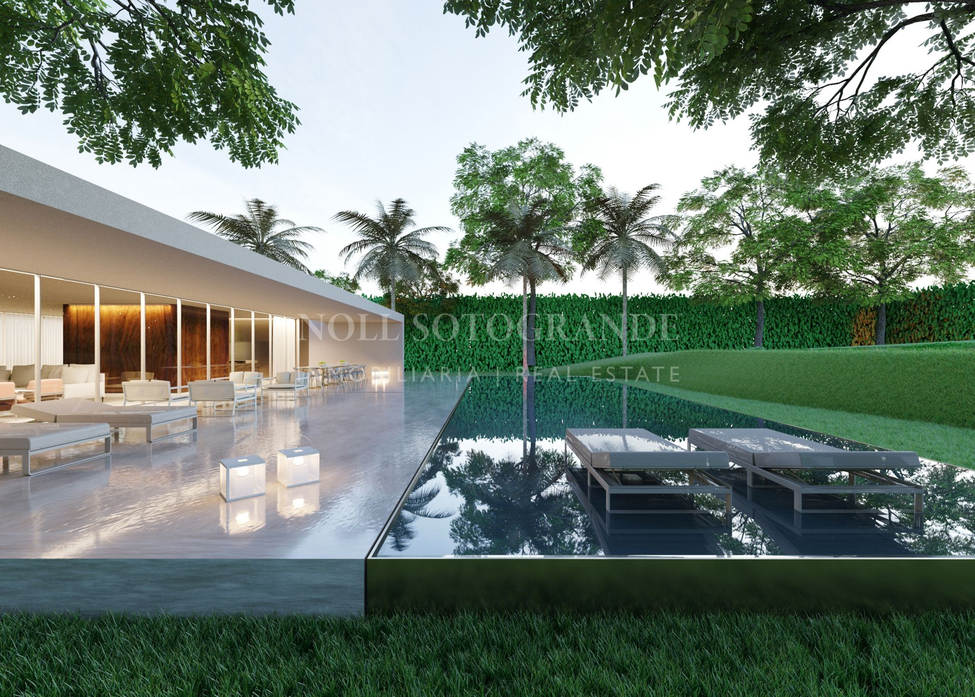 Luxury Gardens- Contemporary Villa Sotogrande Los Altos de Valderrama