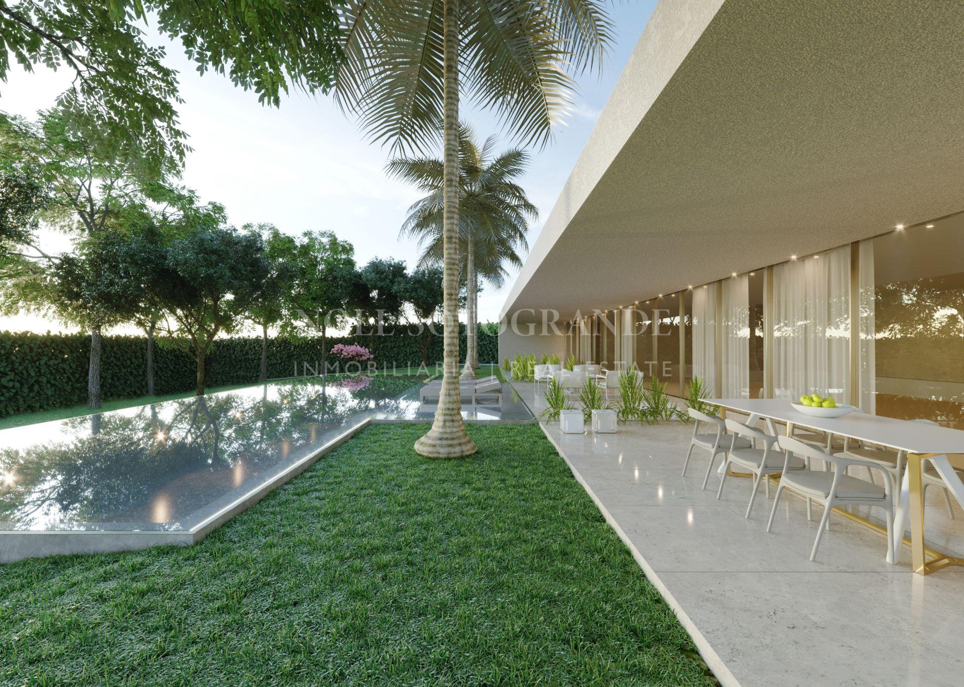 Luxury Gardens-Contemporary Villa Sotogrande Los Altos de Valderrama