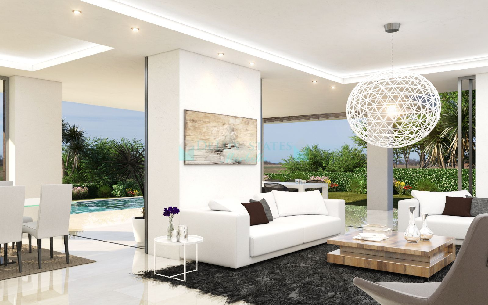 Villa for sale in New Golden Mile, Estepona