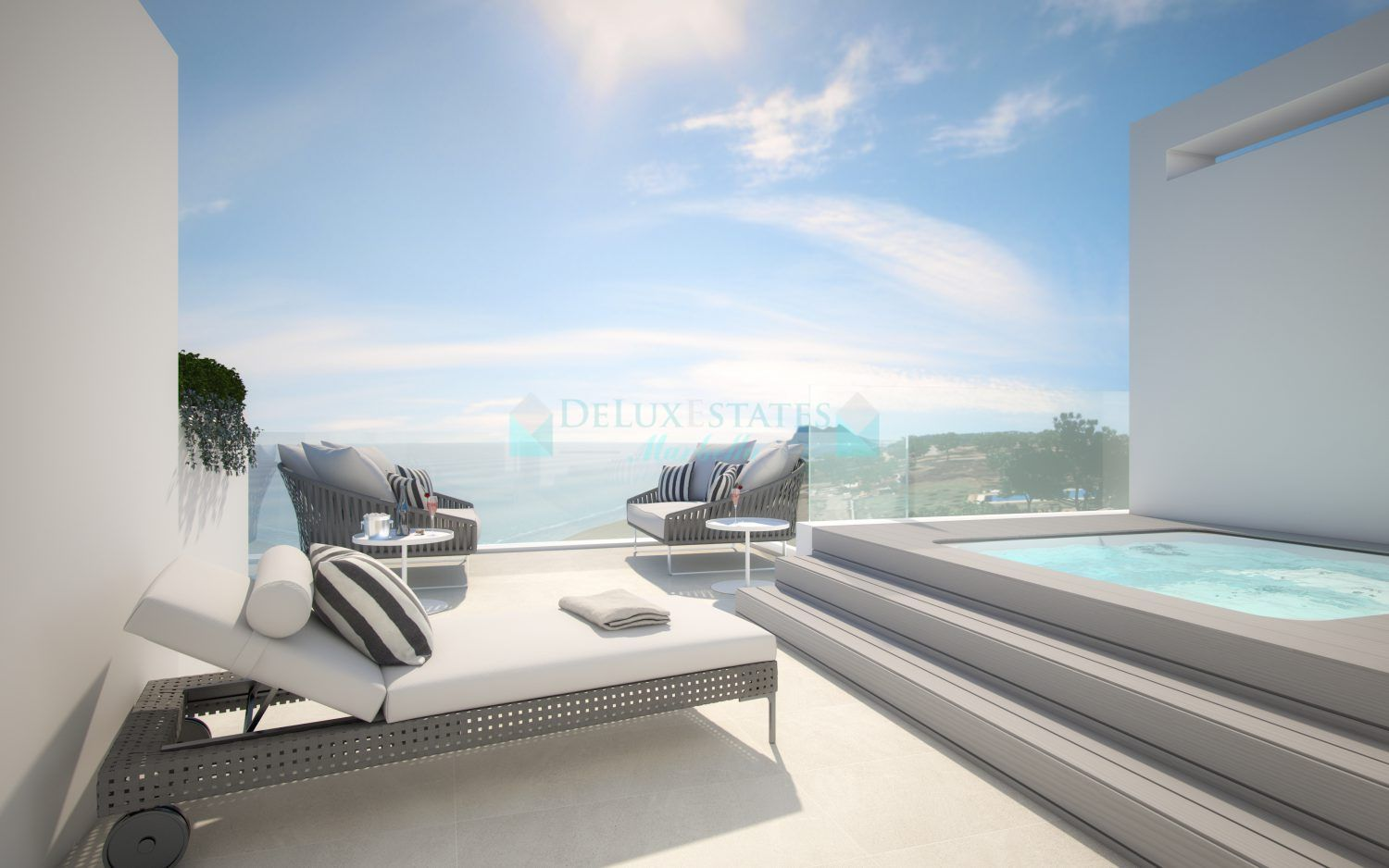 Town House for sale in Estepona Playa, Estepona