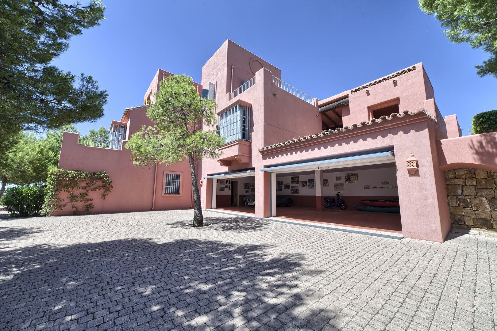 Mediterranean country house with panoramic views for sale - Marbella club villas ...