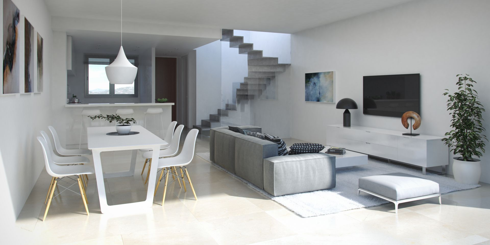 Photo gallery - New modern townhouses for sale in La Cala de Mijas