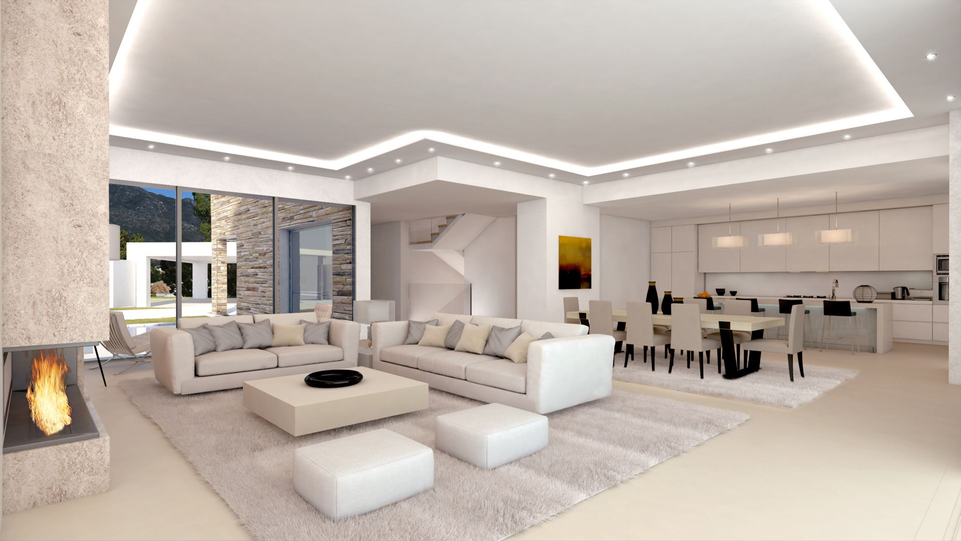 Modern Villas In Best Location With Sea Views For Sale In Marbella