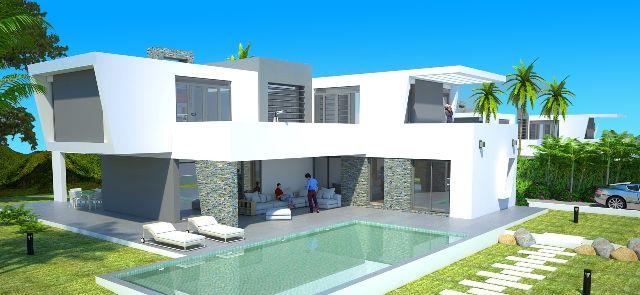 3 New Build Villas Project For Sale In Estepona East