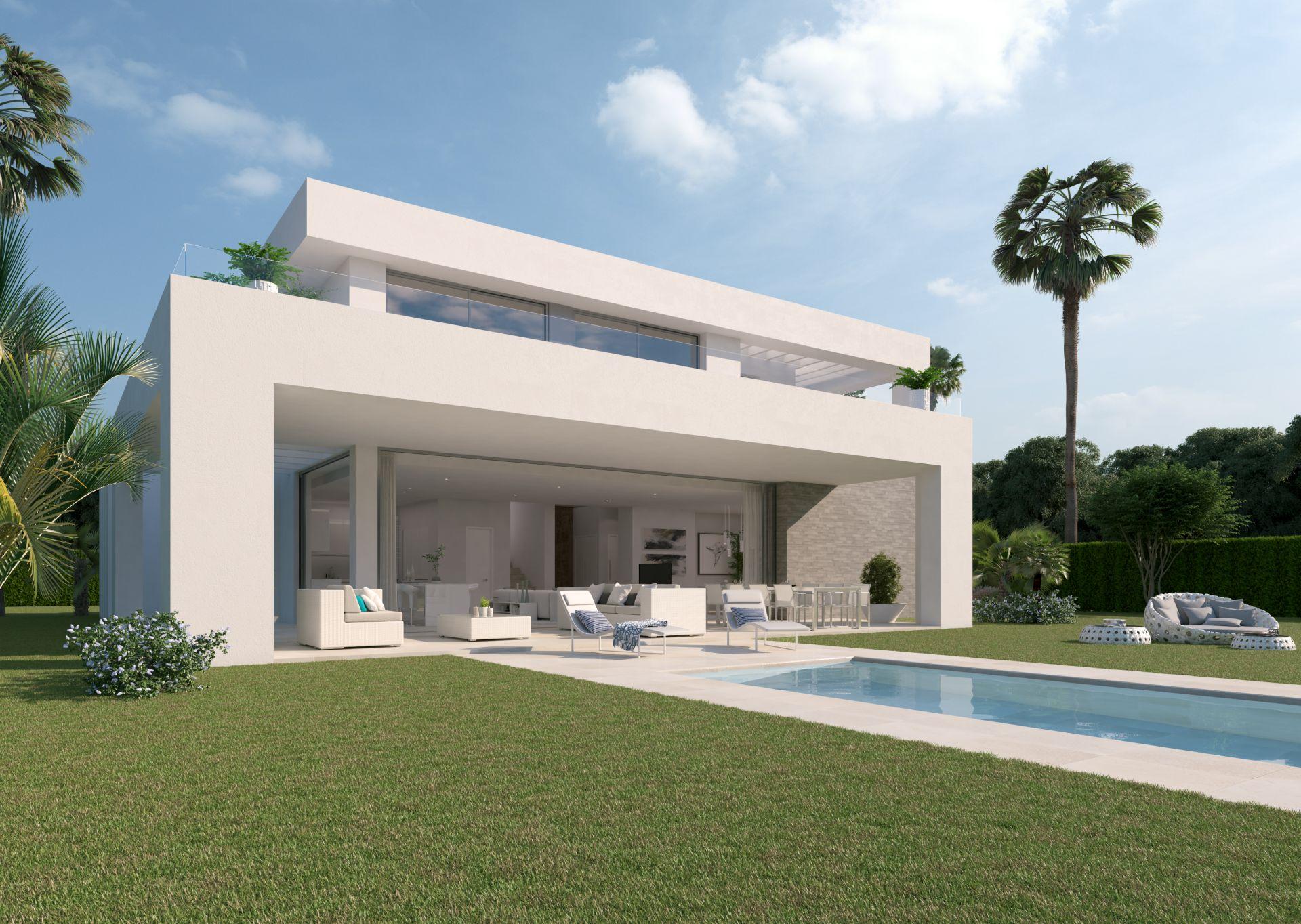 projekt fr 33 moderne villen im la cala golf resort in la cala - Moderne Villen