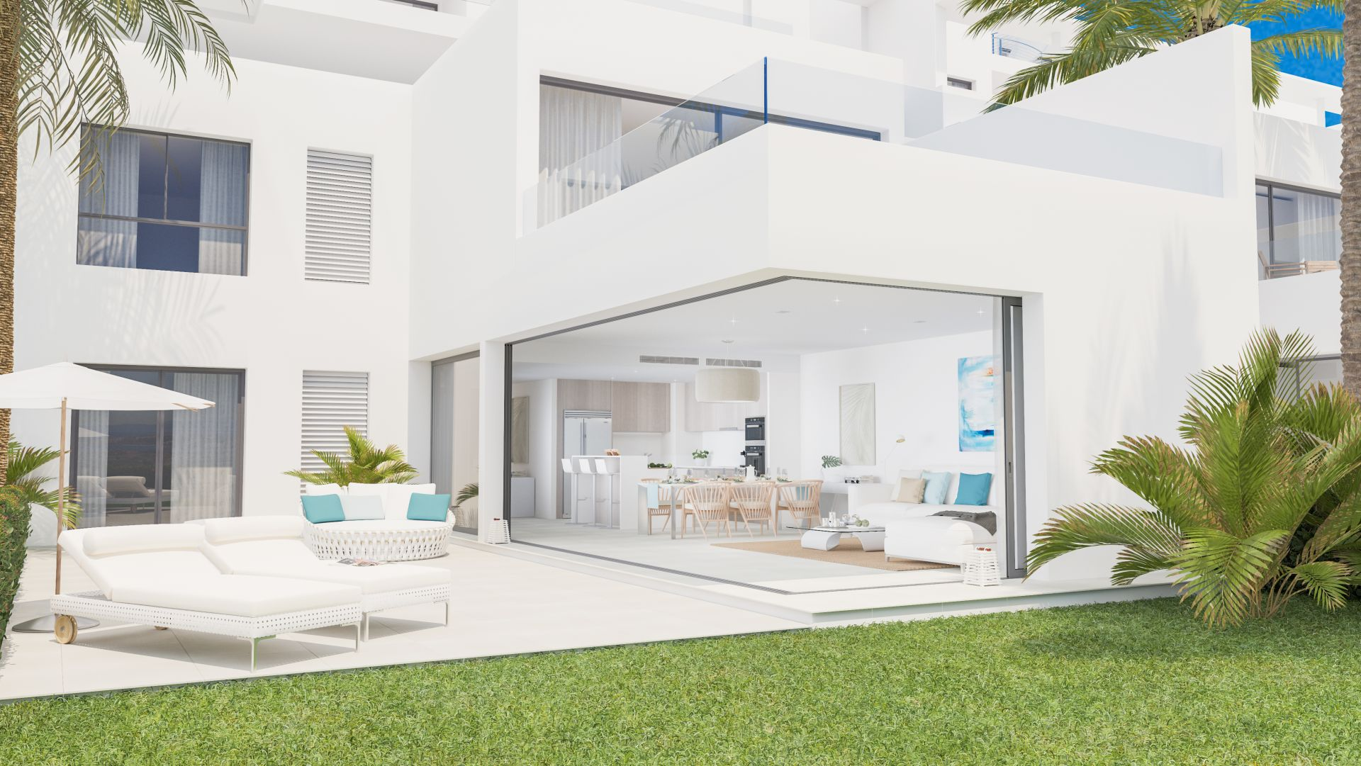 12 modern new town houses for sale in finca cortesin in casares