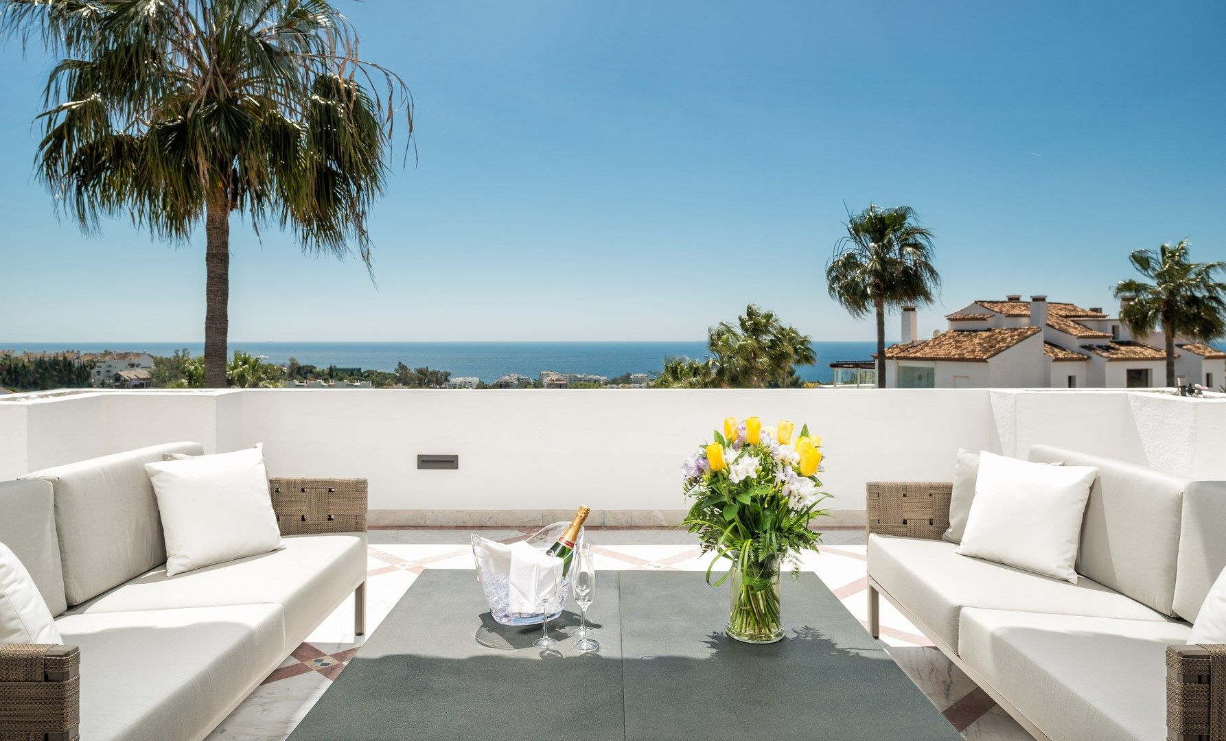 Exclusive double apartment for sale in Monte Paraiso Country Club in Marbella