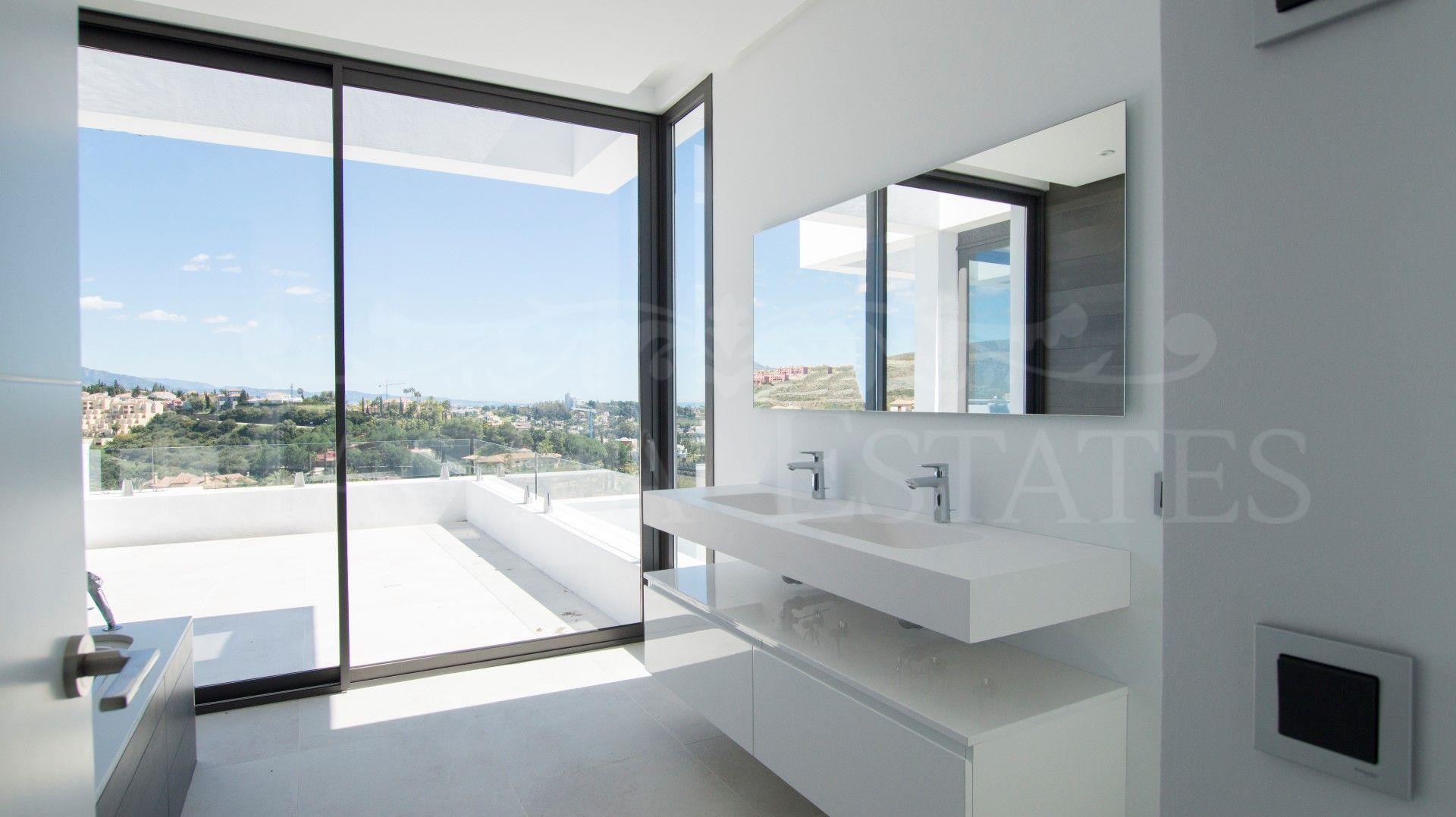 Brand new design villa in Los Flamingos Resort