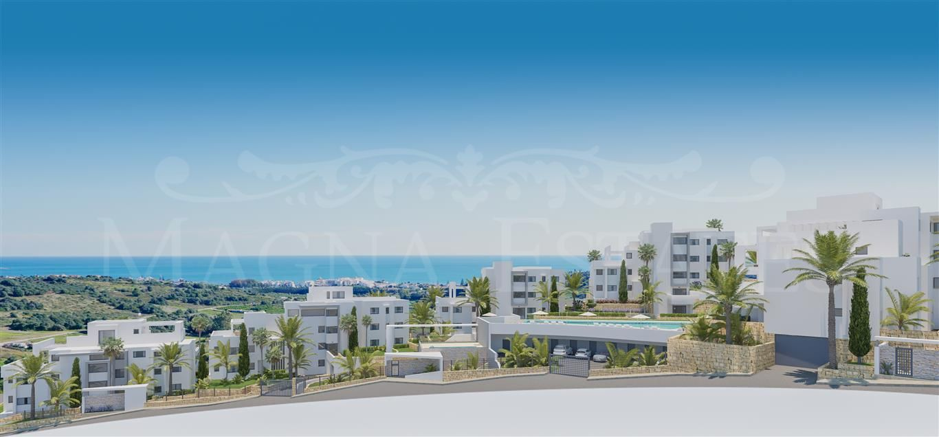 Newly built apartments in Estepona Golf