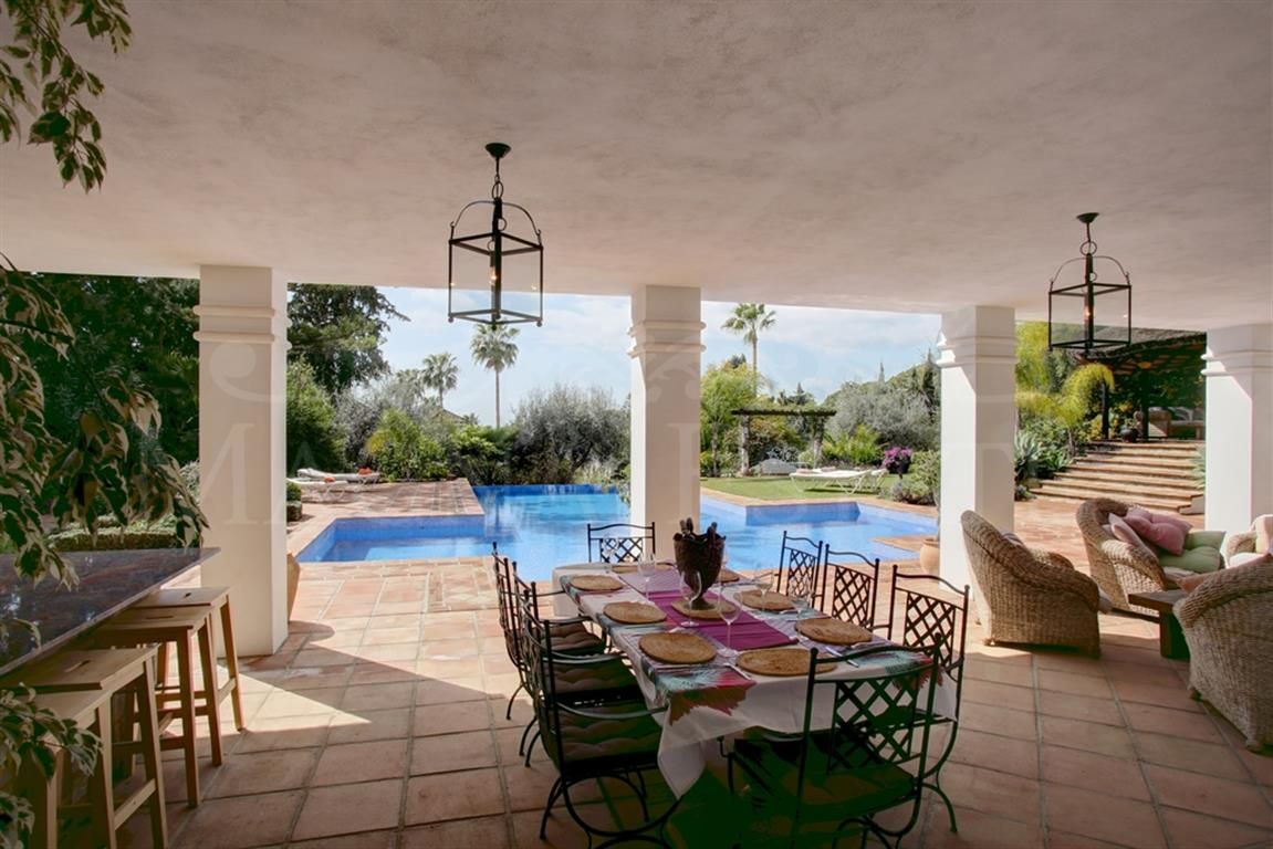 Dream Villa in the Golden Mile of Marbella