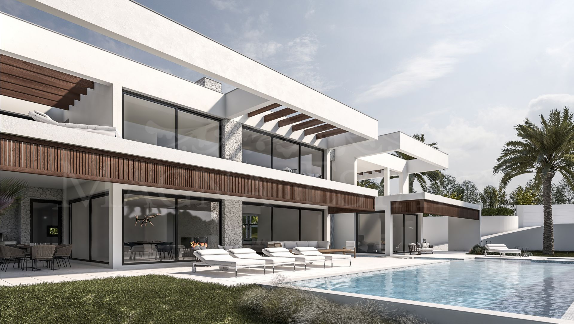 Spectacular contemporary designed villa in Nueva Andalucía