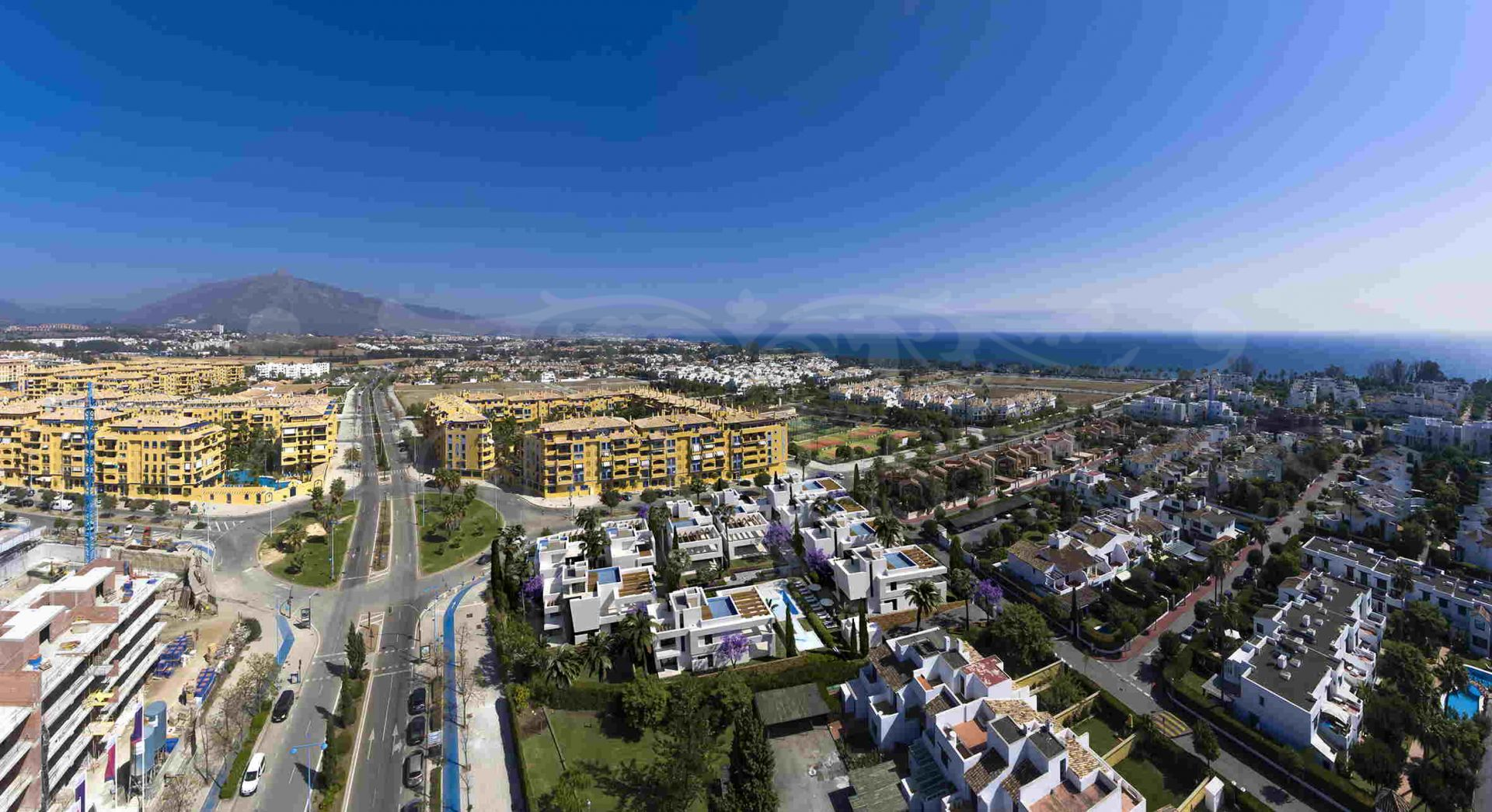Contemporary Villas in the heart of San Pedro Beach