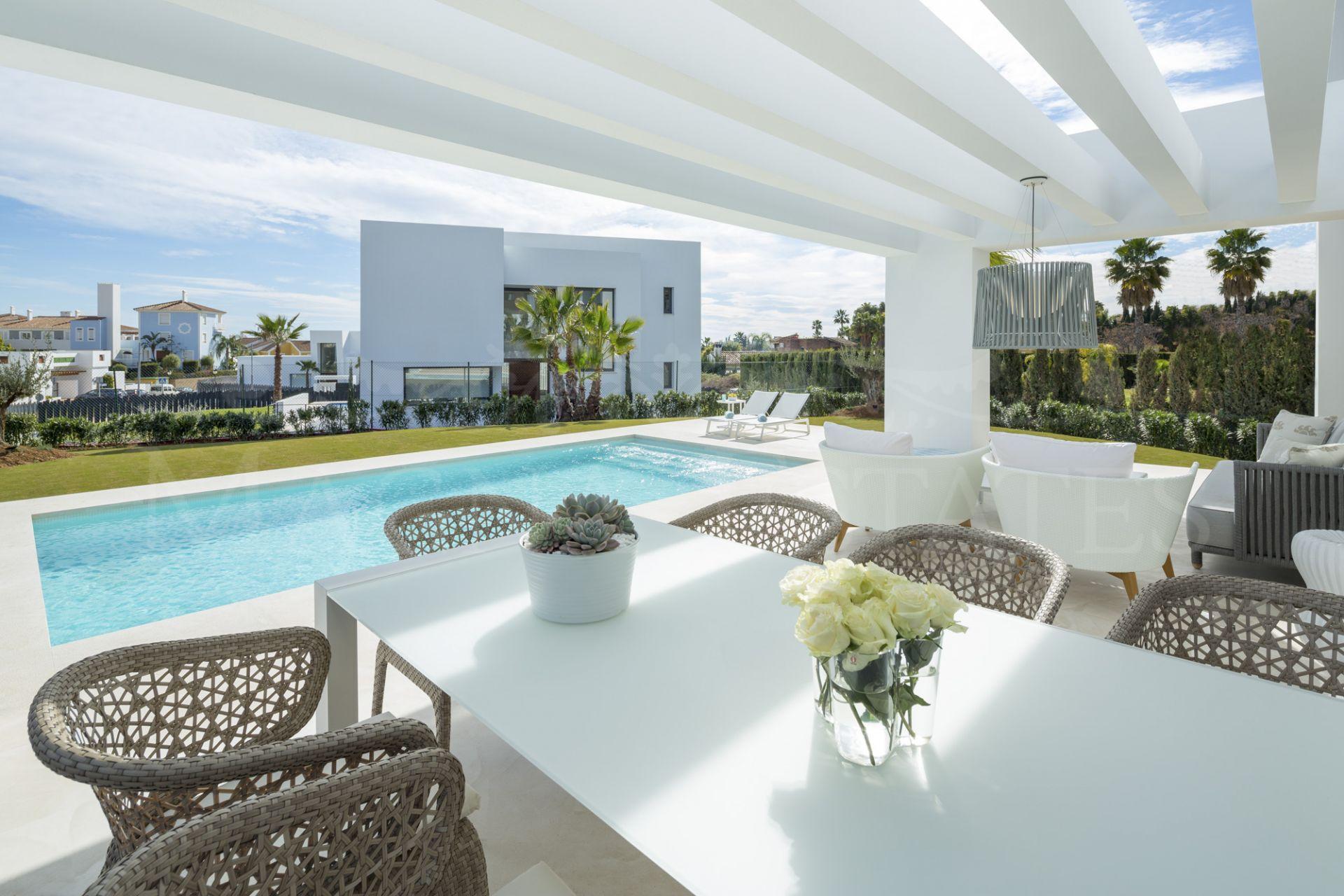 Villas in style at El Campanario, Estepona