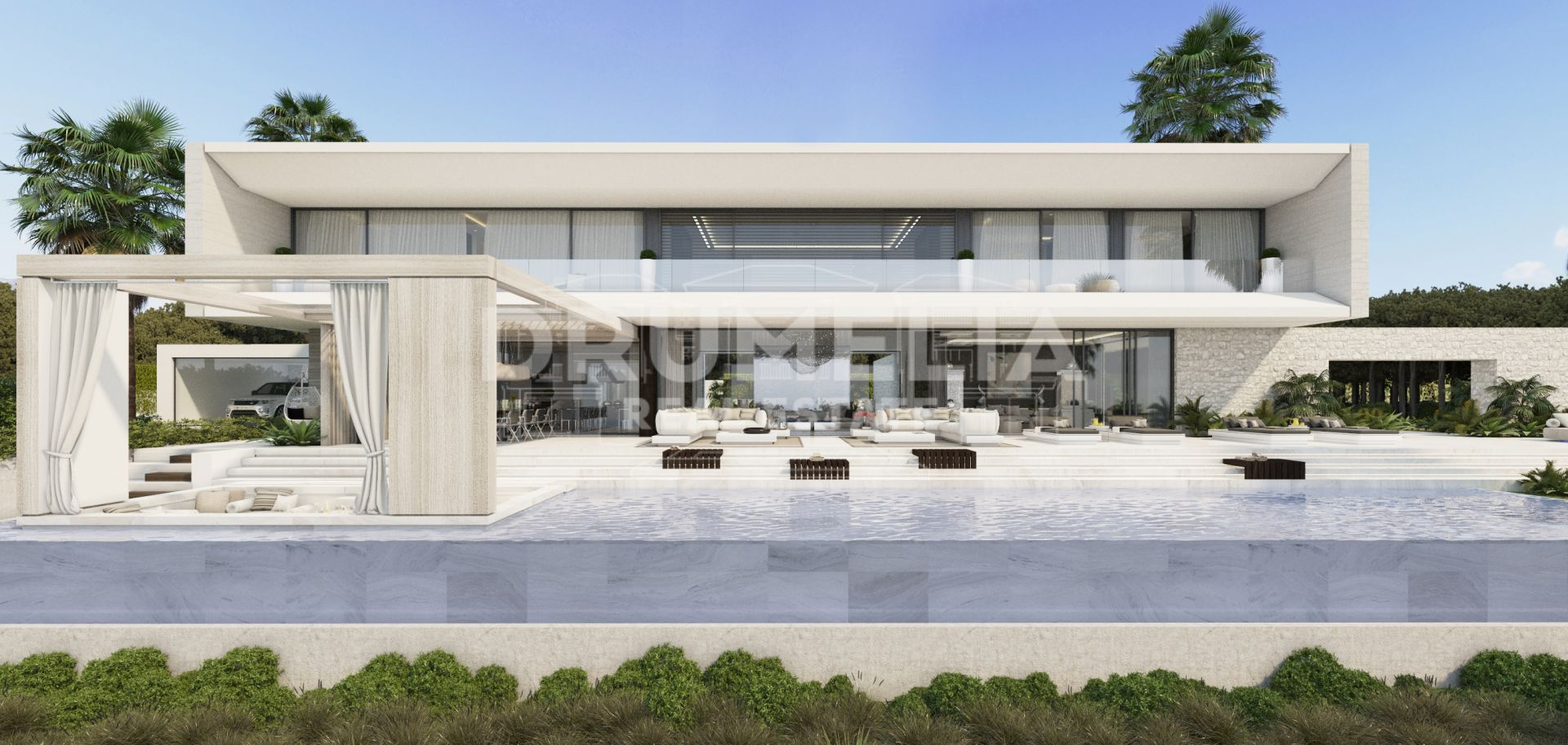 Benahavis, State of Art Contemporary Luxury Mansion, El Madroñal, Benahavis