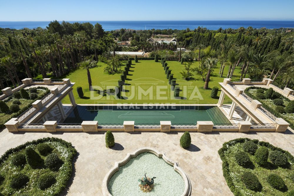 Marbella Golden Mile, Exclusive Palatial Villa La Favorita, the Golden Mile, Marbella