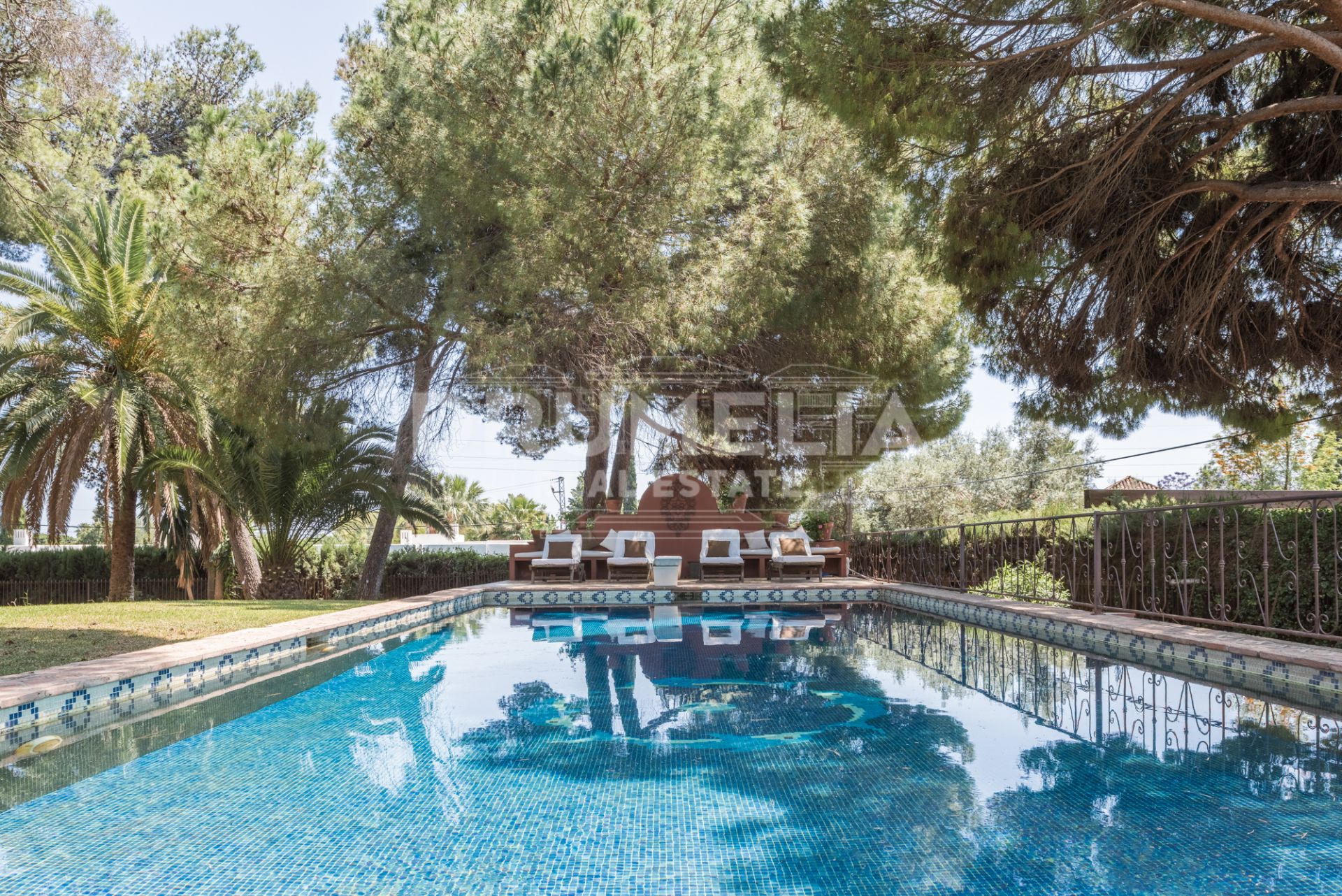 Marbella Golden Mile, Villa with impressive plot