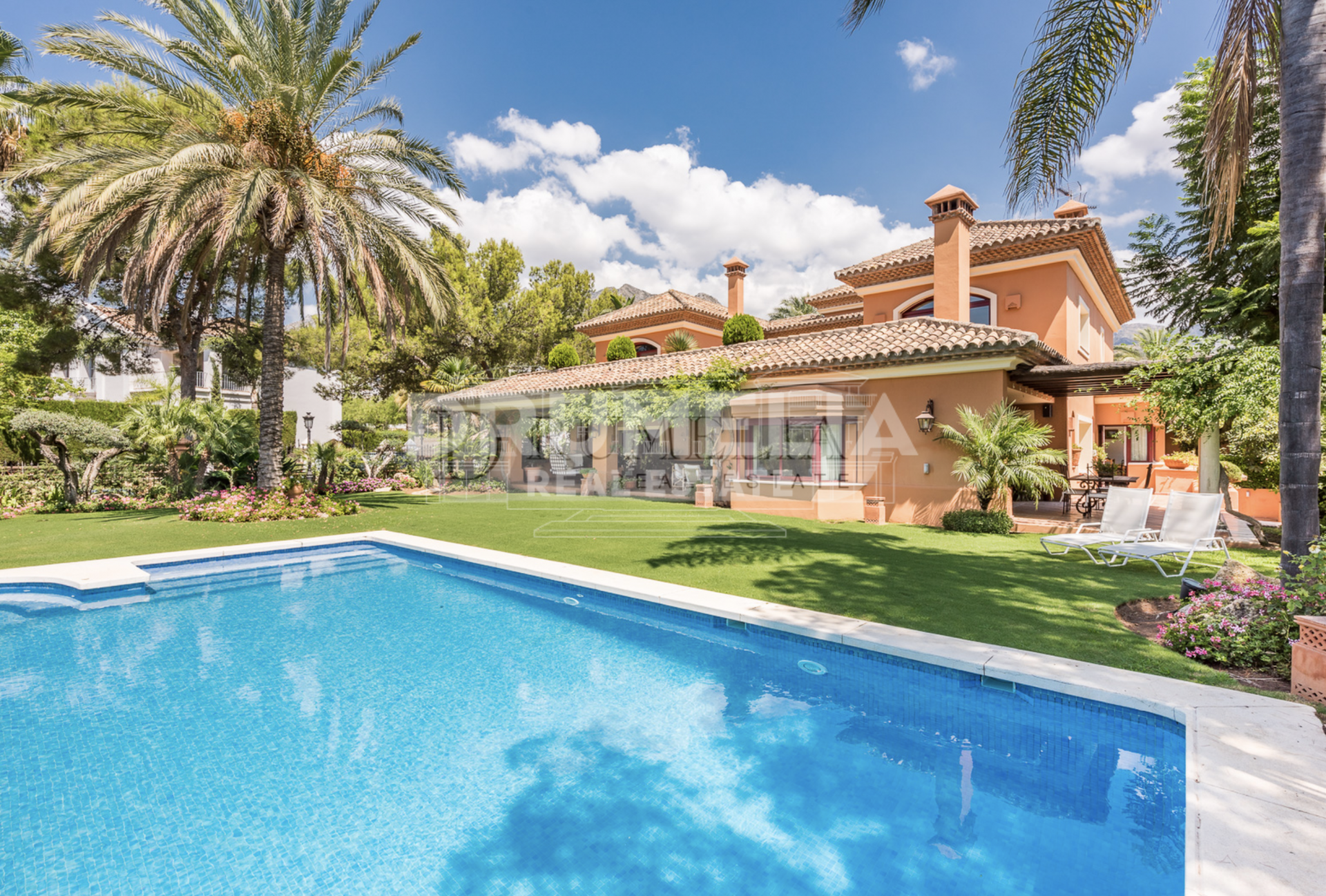 Marbella Golden Mile, Mediterranean villa in Golden Mile