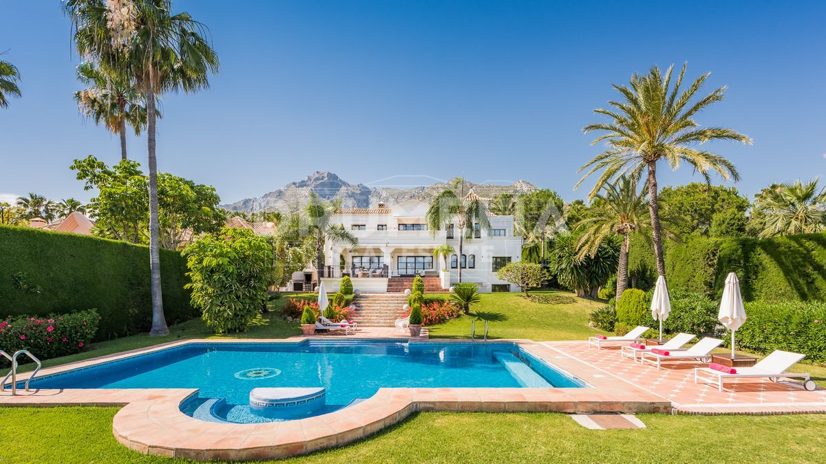 Marbella Golden Mile, Magnificent villa in Sierra Blanca