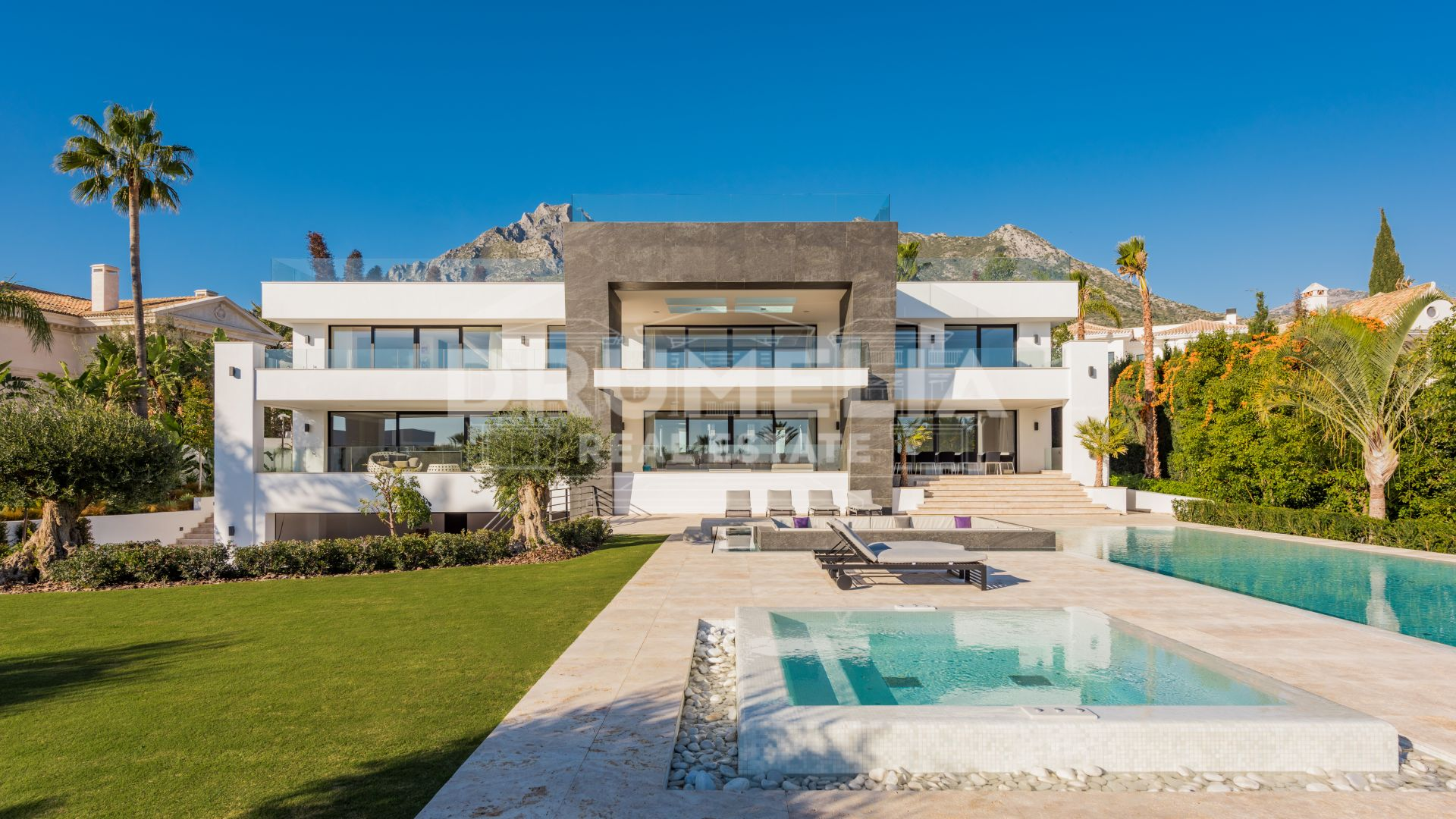 Marbella Golden Mile, New-build Unique Luxury Contemporary Villa, Sierra Blanca, Golden Mile, Marbella