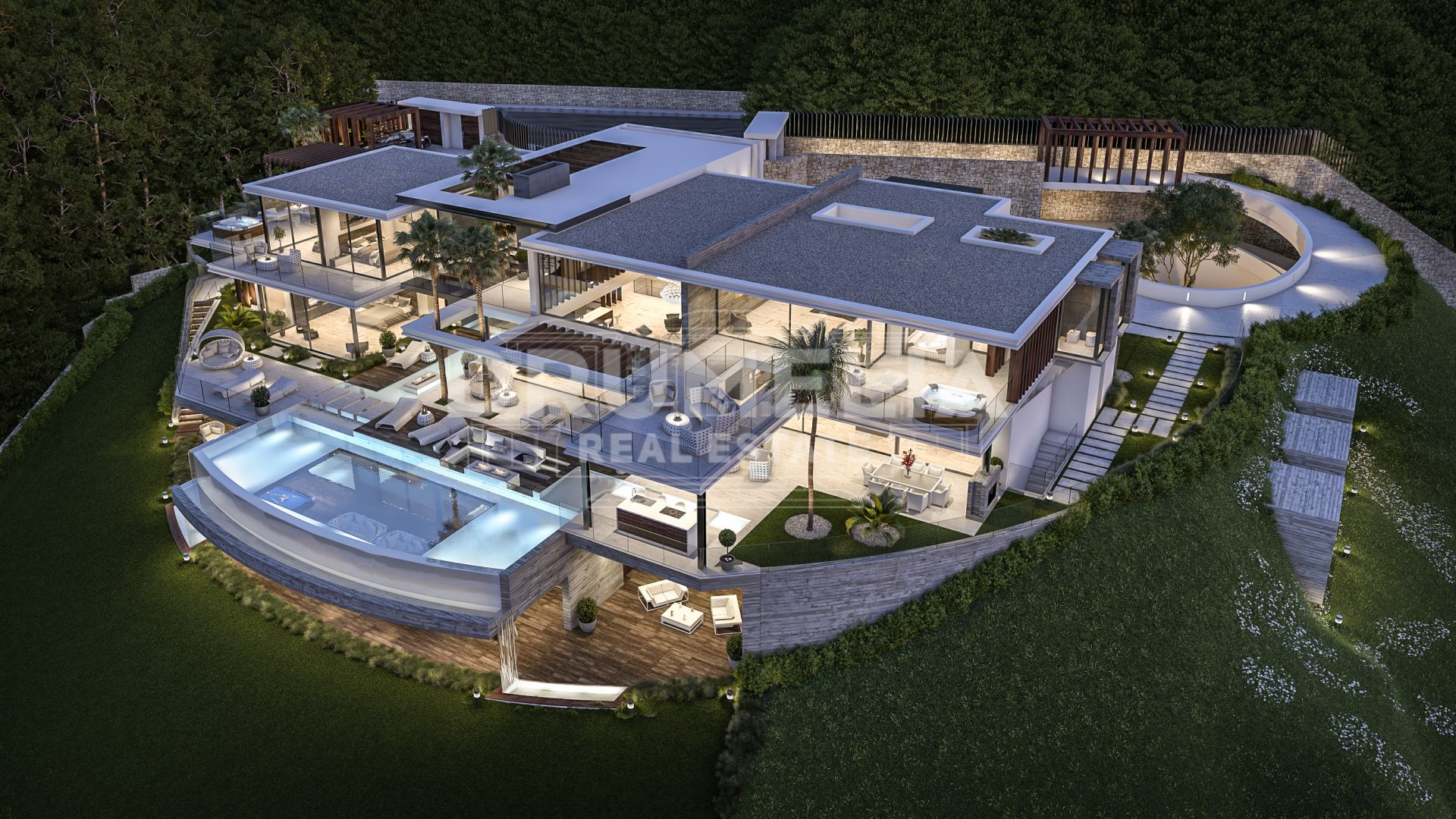 Benahavis, Exceptional Modern Luxury Villa Project, La Zagaleta, Benahavis