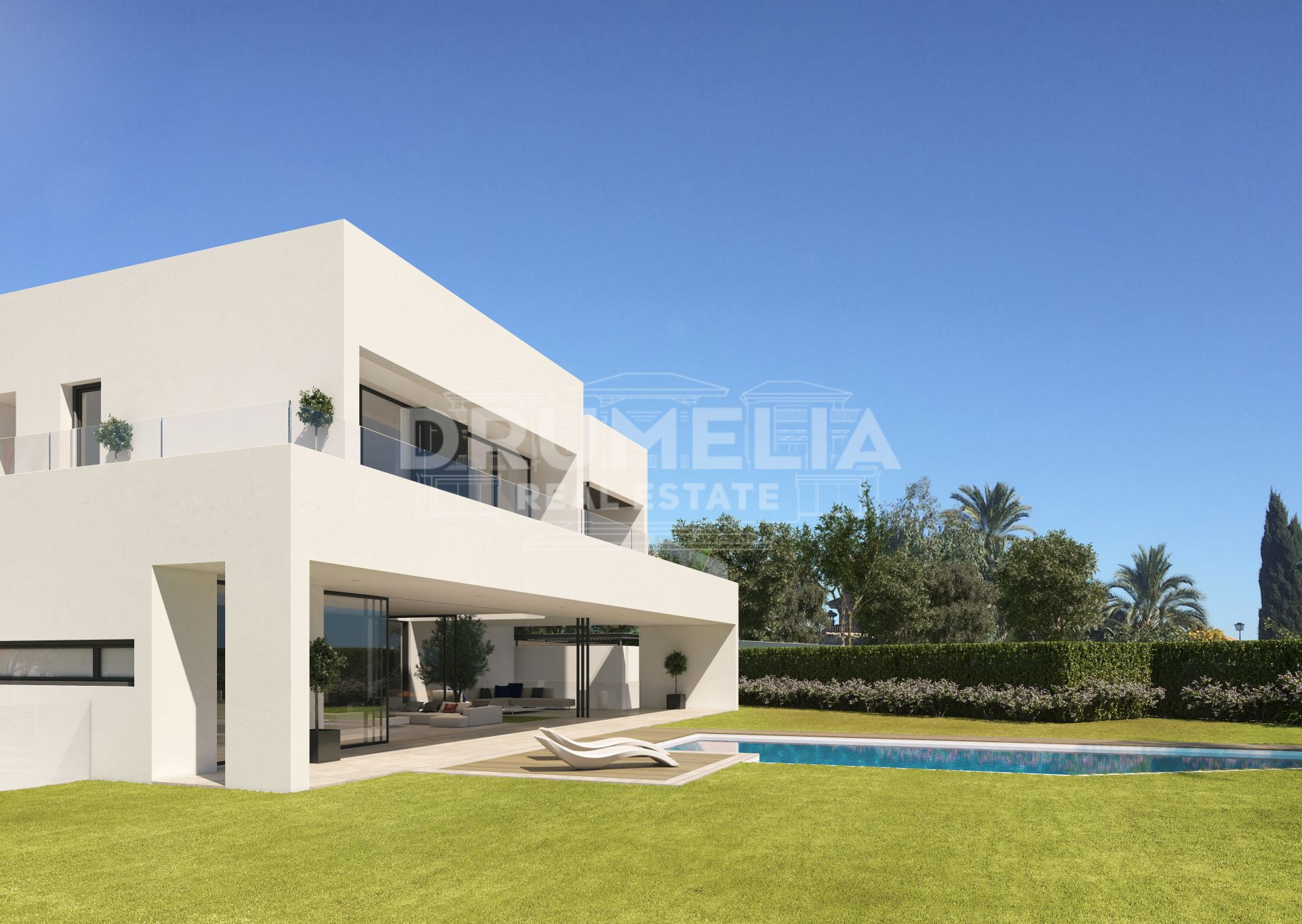 Marbella Golden Mile, Exclusive plot, in Las Lomas del Marbella Club, Marbella Golden Mile (Marbella)