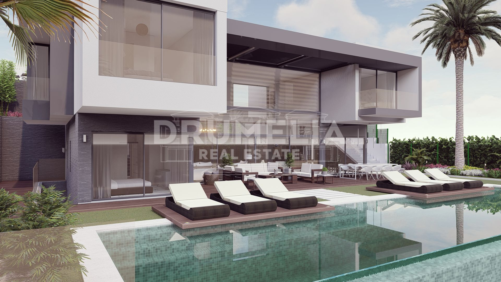 Benahavis, Brand-New Stunning Contemporary Luxury Villa, Benahavis