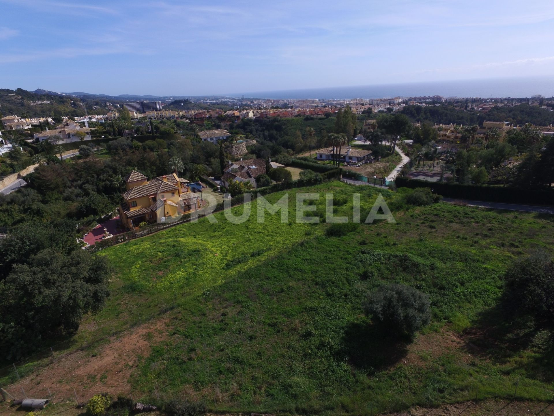 Marbella Golden Mile, Excellent Large Plot with Stunning Panoramic Views, Cascada de Camojan