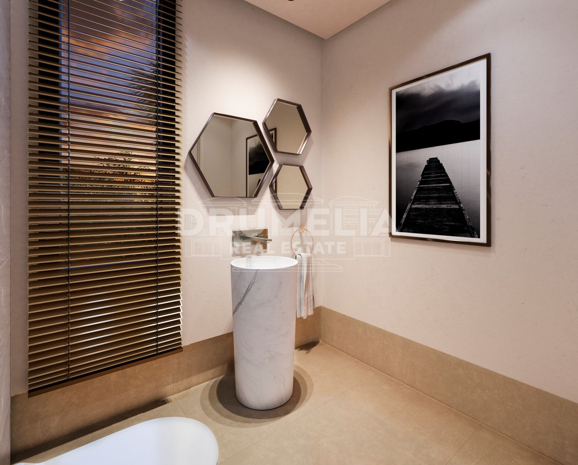 Benahavis, New Stylish Modern Luxury Ground Floor Apartment, Real de La Quinta, Benahavis