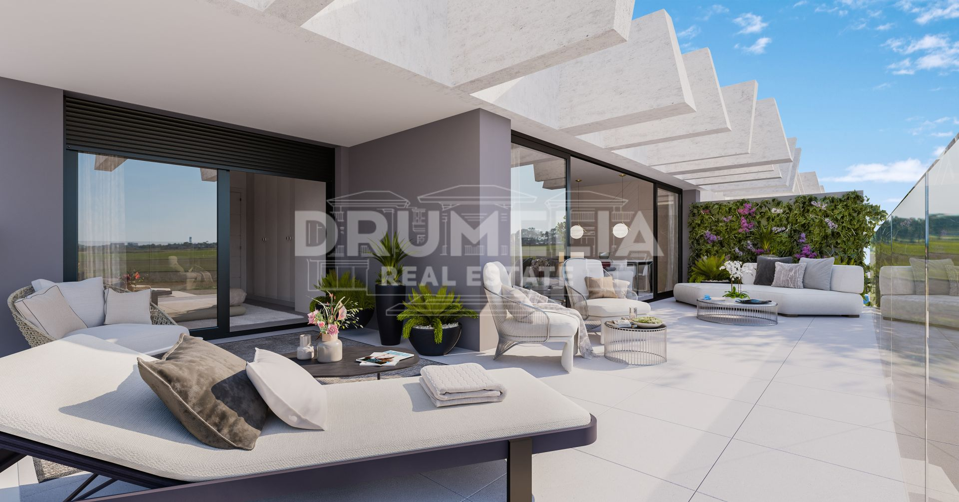 Estepona, Magnificent Brand-New Frontline Golf Modern Luxury Penthouse, La Resina Golf, Estepona