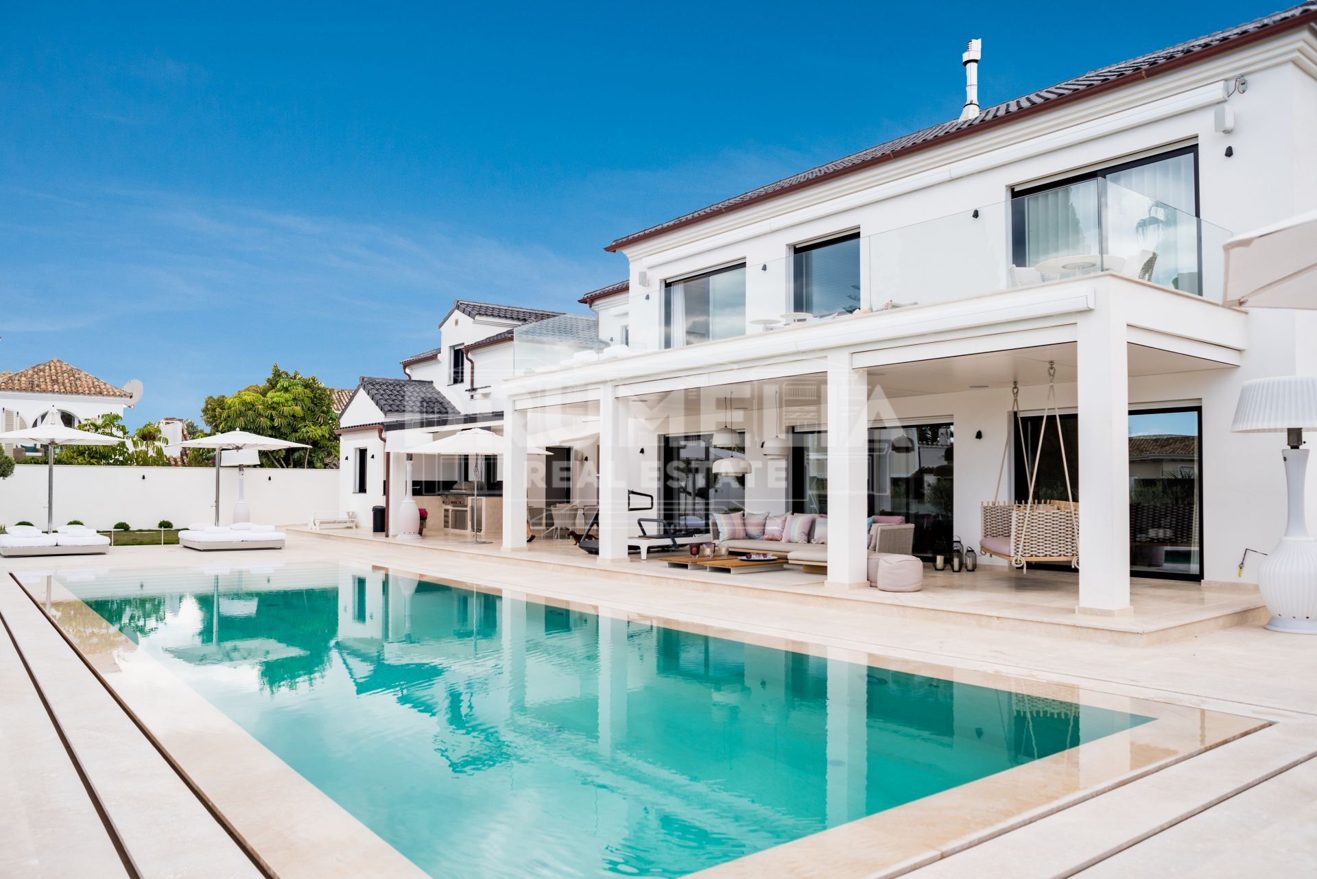 Marbella Golden Mile, Magnificent Modern Luxury Villa in Casablanca, Marbella Golden Mile