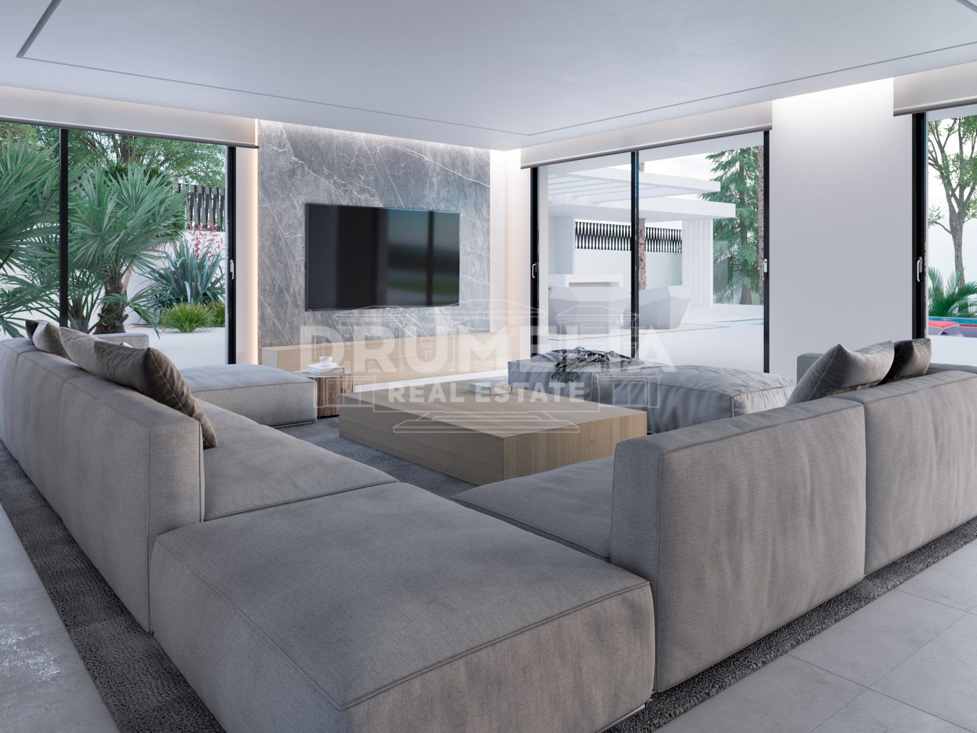 Marbella East, Brand New Spectacular Sophisticated Modern Luxury Villa, Marbesa, Marbella East