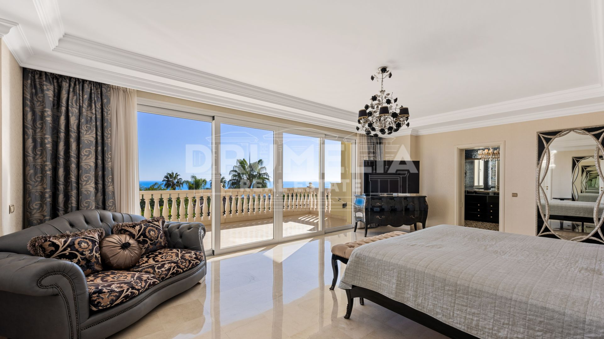 Marbella Golden Mile, Stunning Mediterranean Luxury Mansion, Sierra Blanca, Marbella Golden Mile