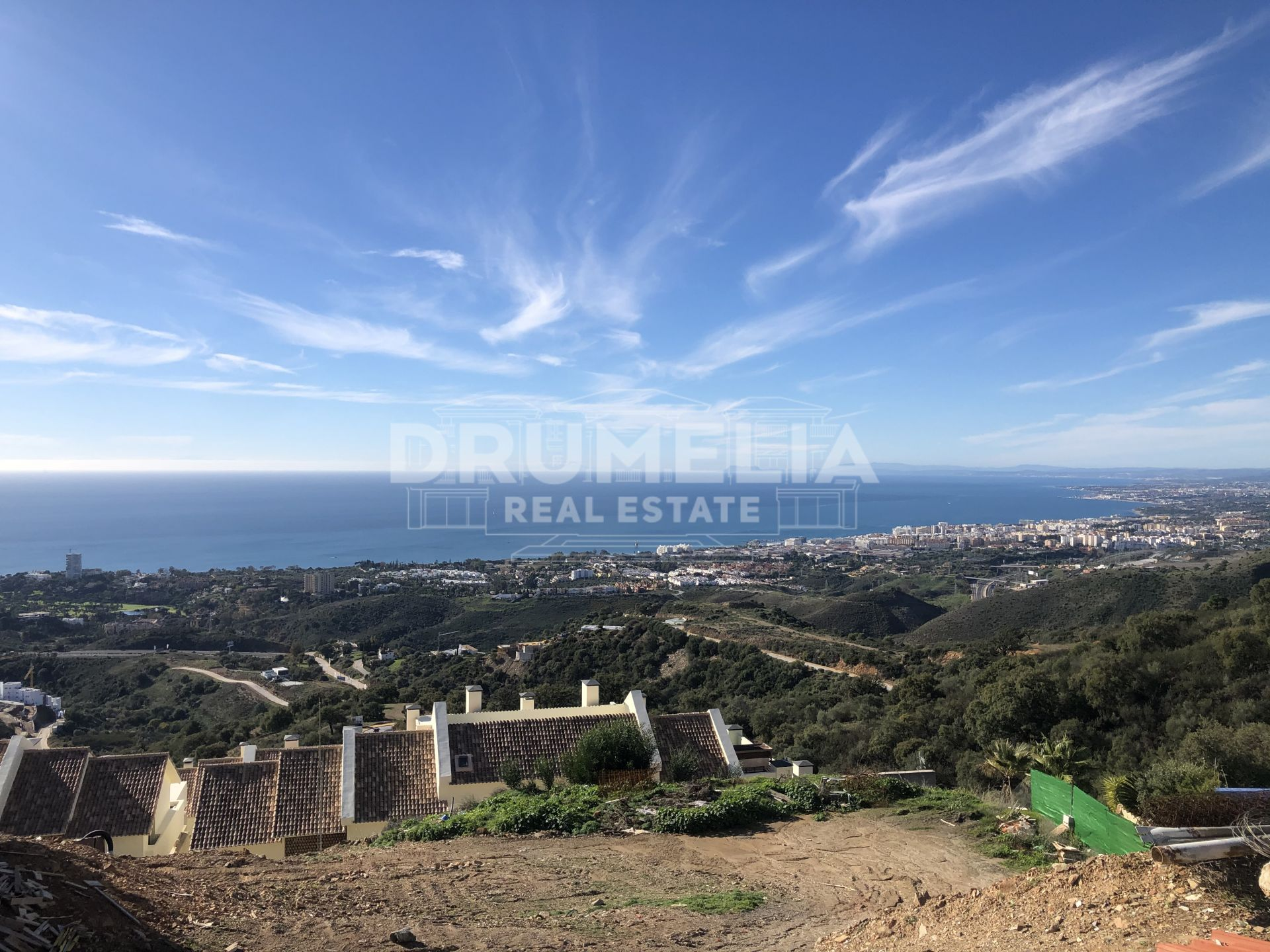 Marbella East, Excellent Plot with Stunning Panoramic Views, Los Altos de los Monteros, Marbella East (Marbella)
