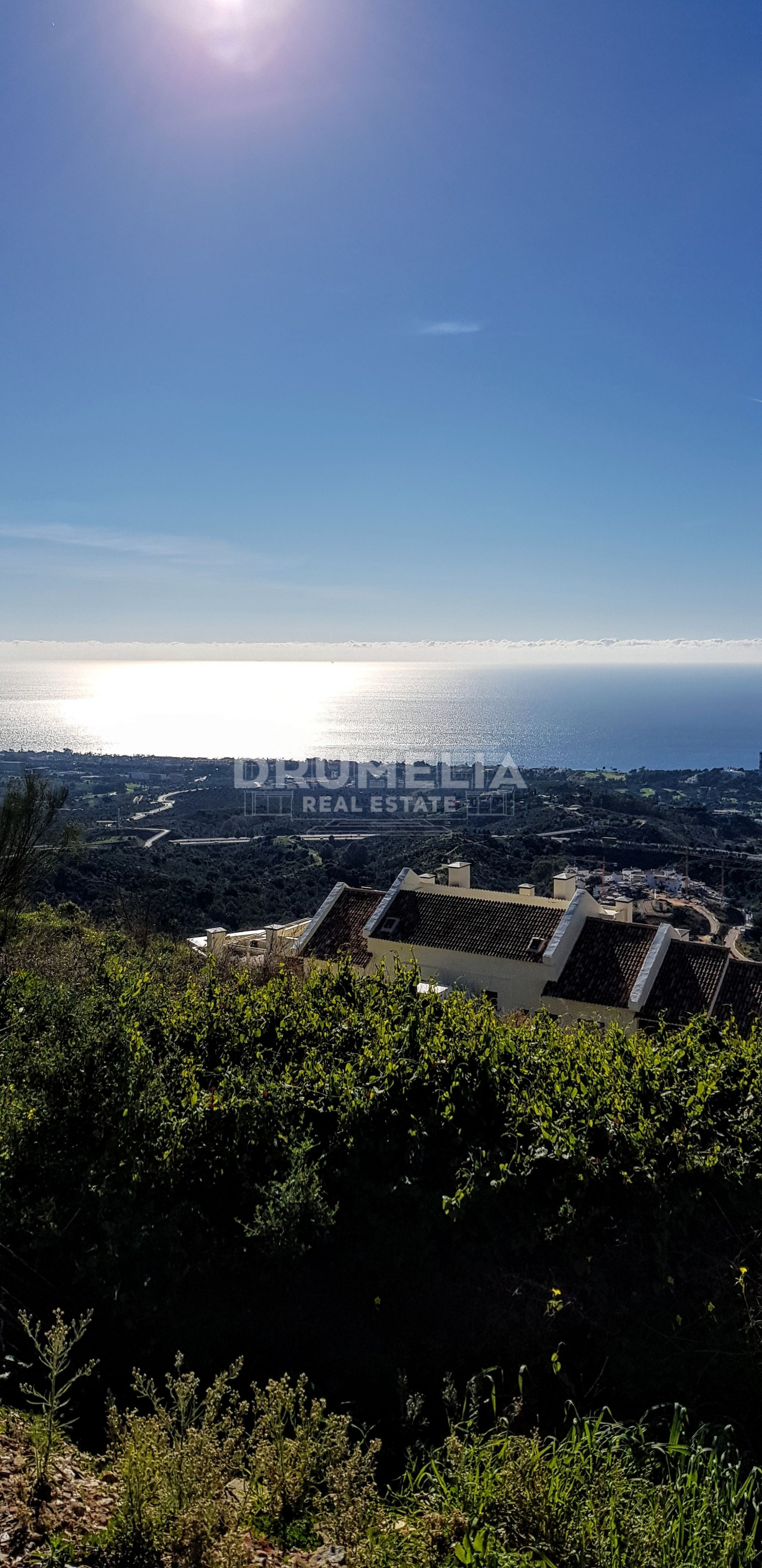 Marbella East, Excellent Plot with Stunning Panoramic Views, Los Altos de los Monteros, Marbella East