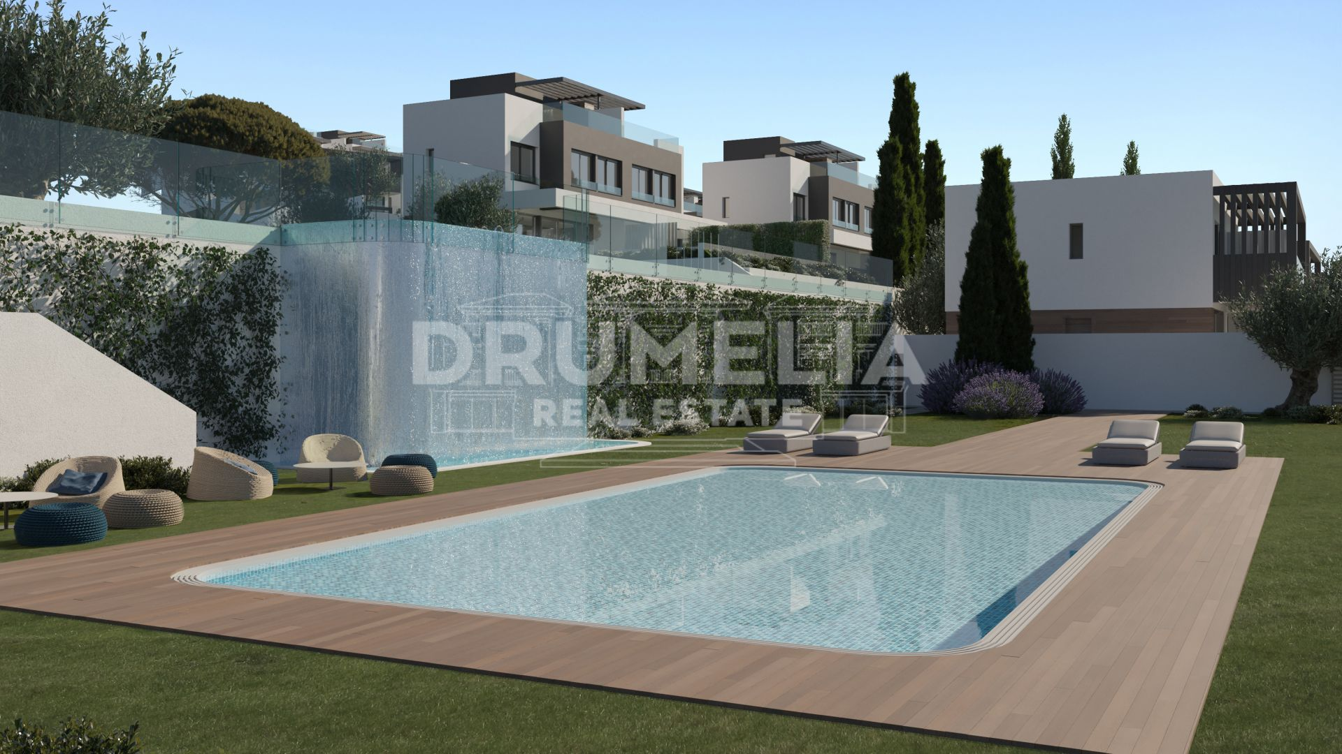 Estepona, New Fabulous Modern Luxury Semi-Detached House, Atalaya Golf, Estepona