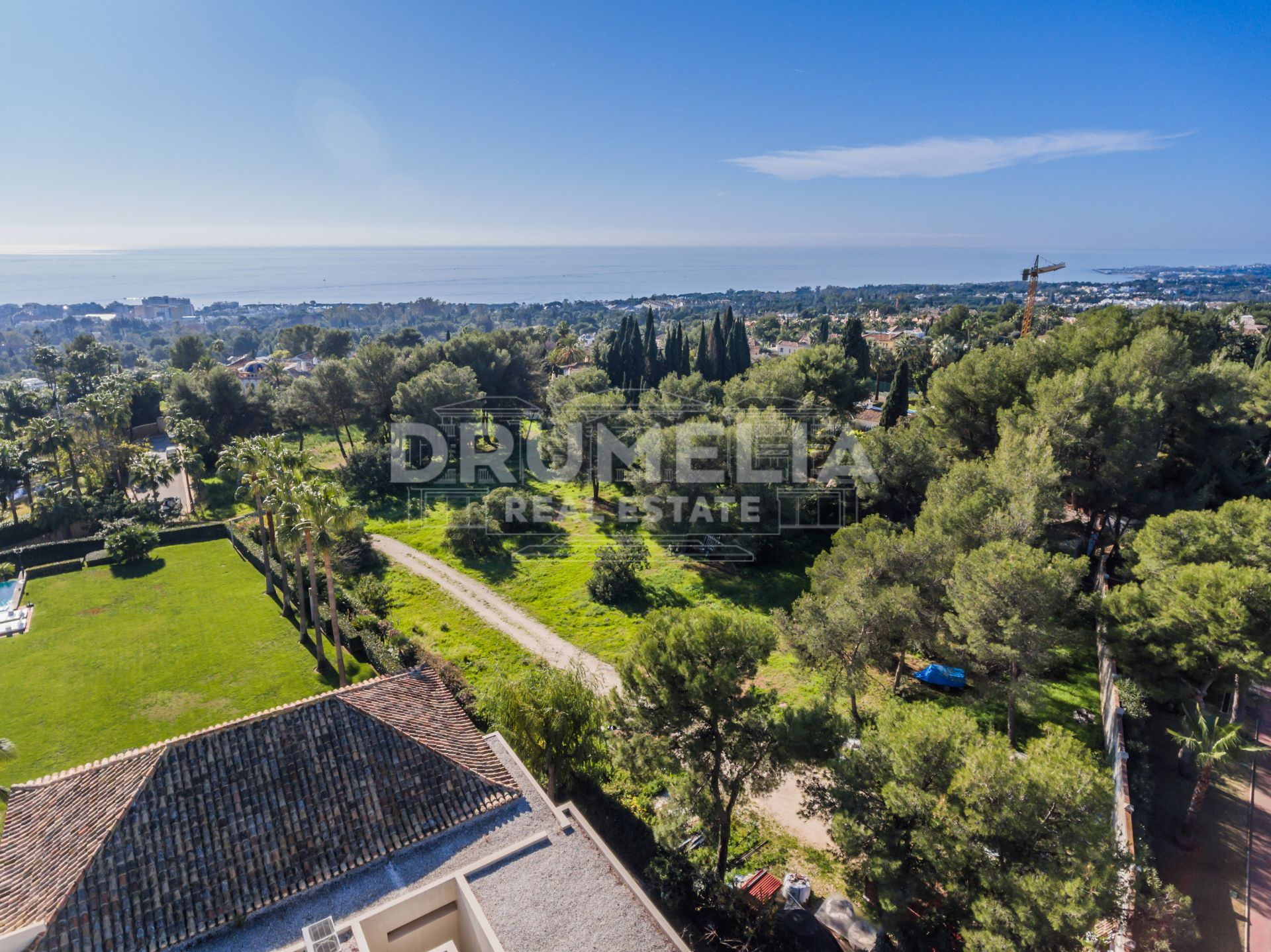 Marbella Golden Mile, Large Plot with Sea Views in La Quinta de Sierra Blanca