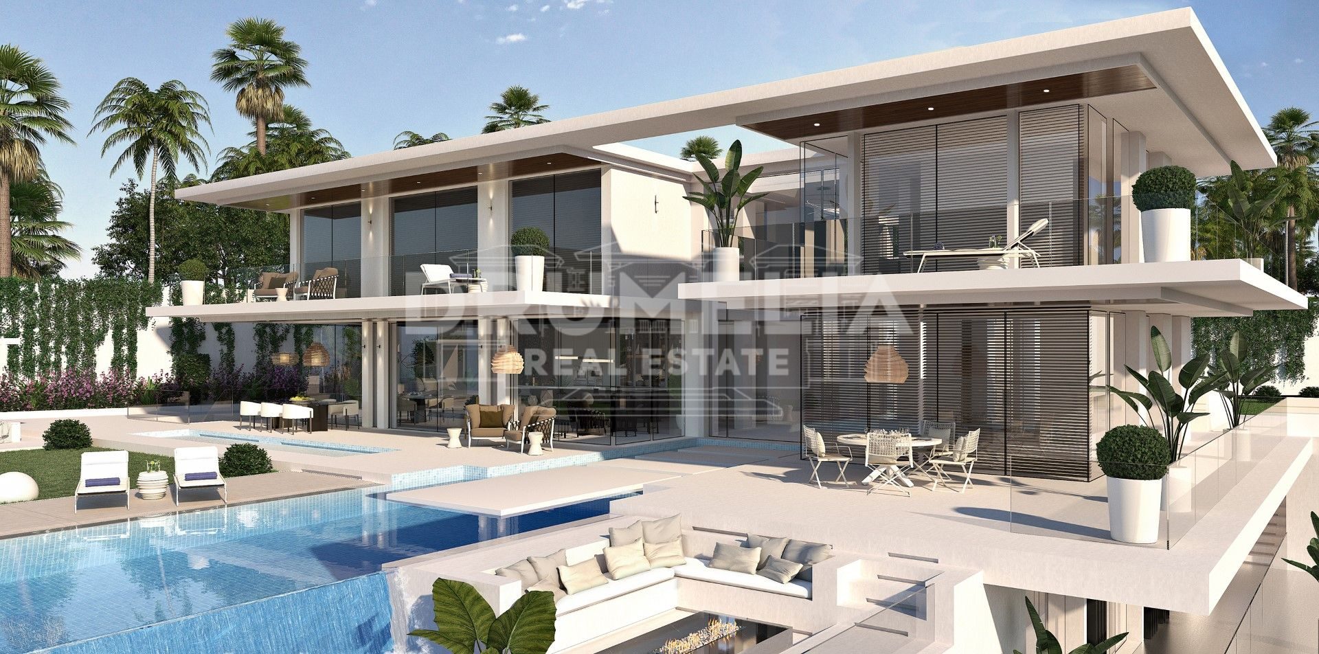 Benahavis,  New Impressive Modern Luxury Villa (project), Paraiso Alto, Benahavis