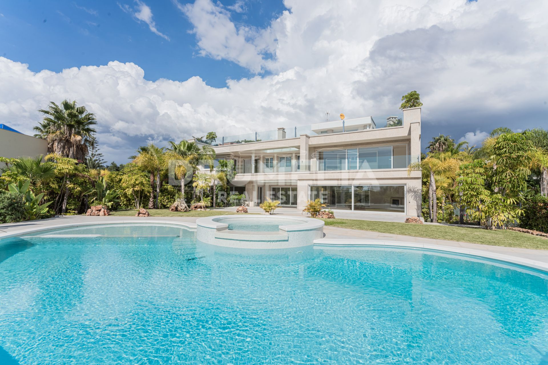 Marbella East, New Impressive State-of-Art Modern Luxury Villa, Bahia de Marbella, Marbella East