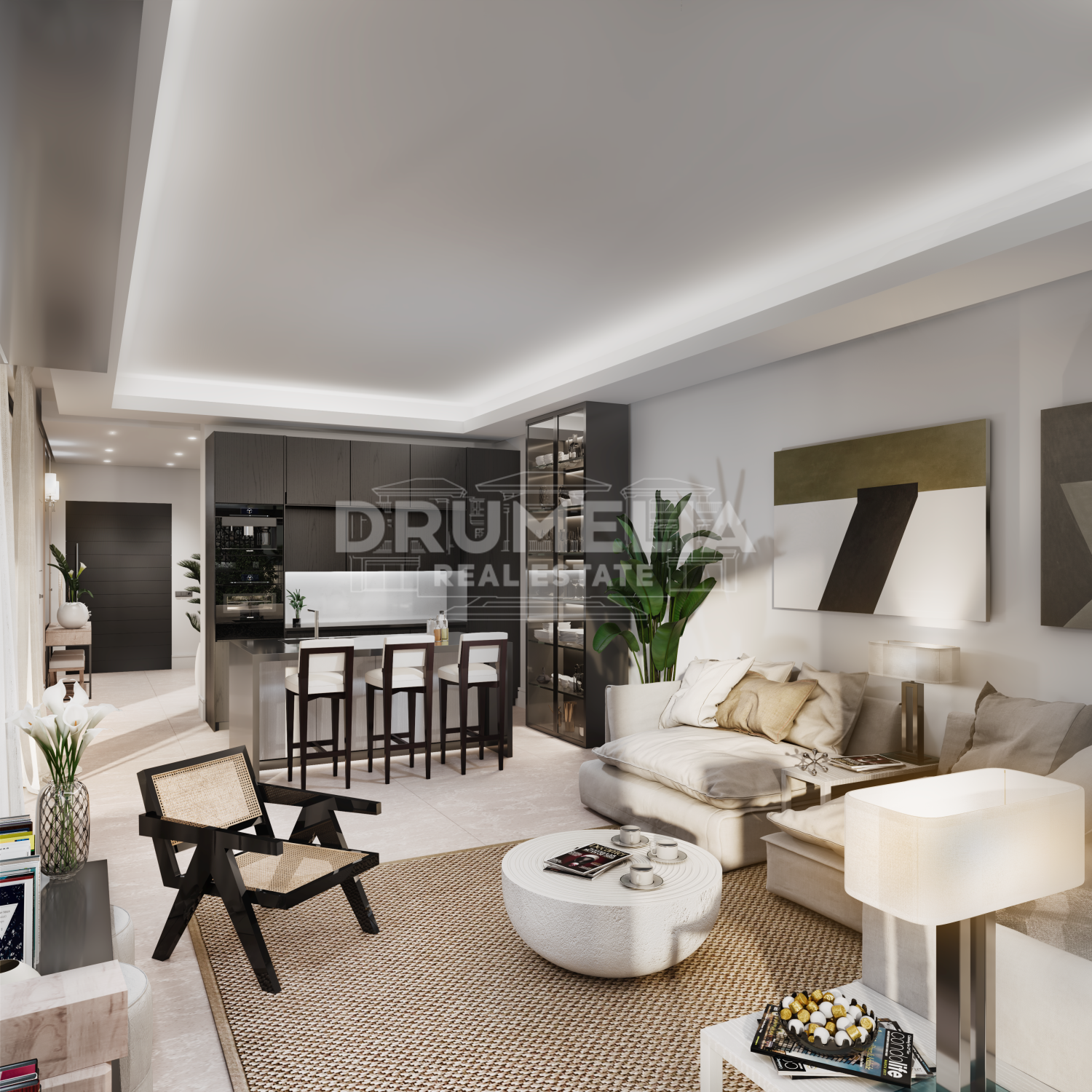 Marbella Golden Mile, Brand-new Contemporary Luxury Villa, Rio Verde Playa, Golden Mile, Marbella