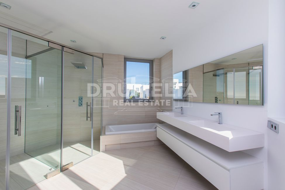 Marbella East, Brand-New Stylish Modern Designer Luxury Villa, Santa Clara Golf, Marbella East