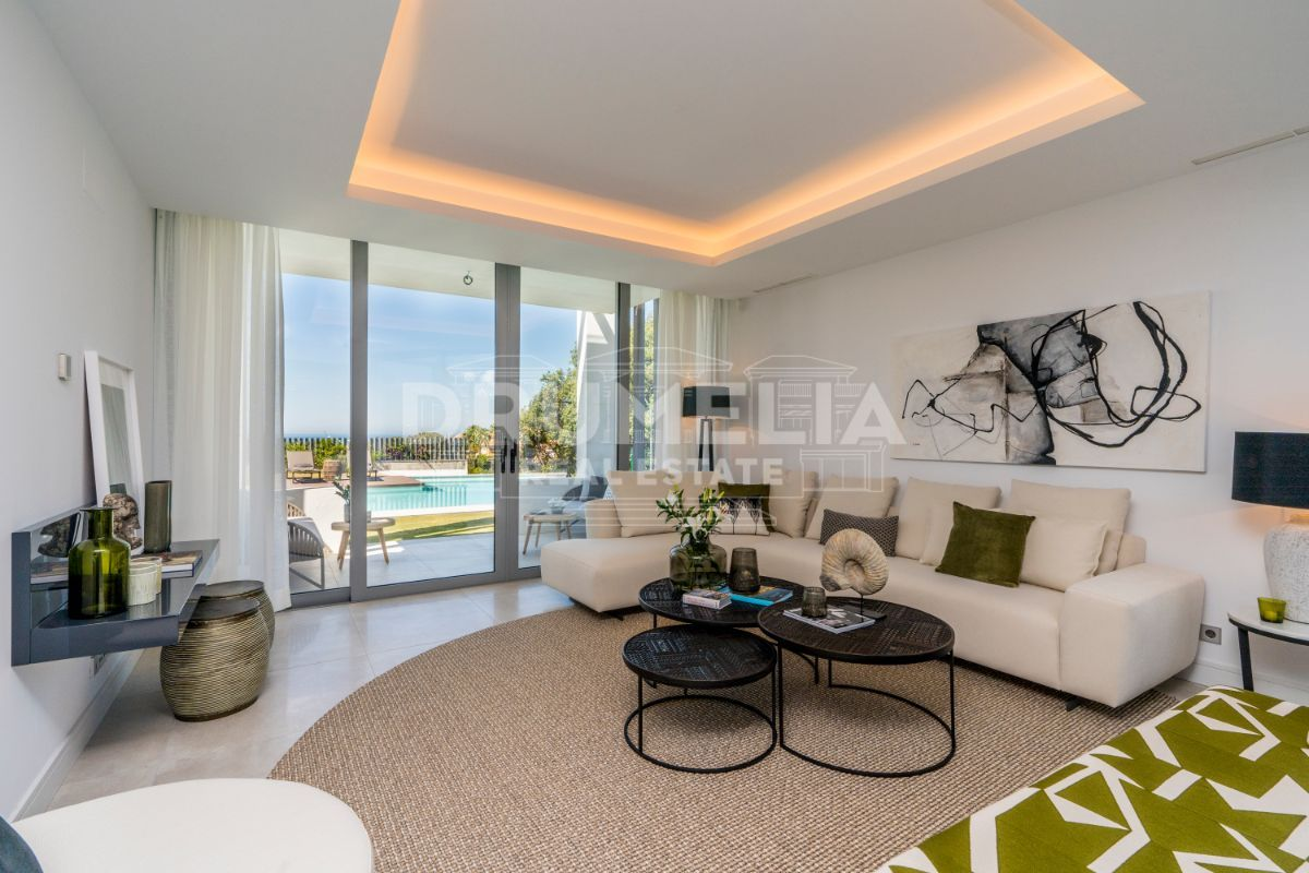 Marbella East, Brand-New Stylish Modern Luxury Villa, Santa Clara Golf, Marbella East (Marbella).