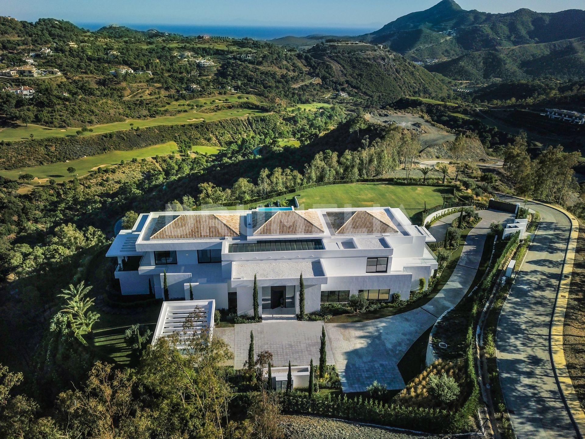 Modern Masterpiece New Unique Luxury Villa La Zagaleta Benahavis