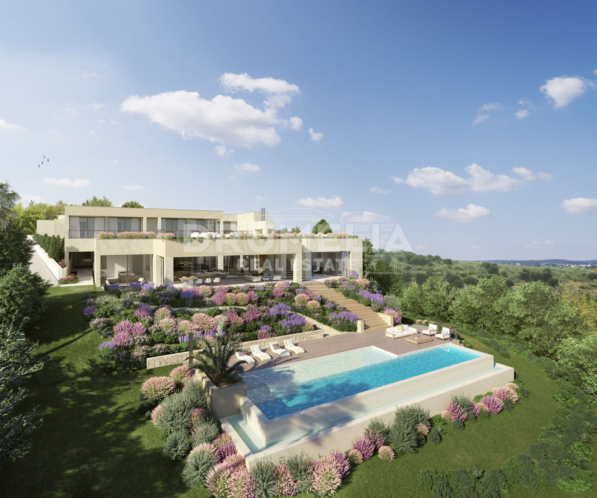 Benahavis, Stylish Frontline Golf New Contemporary Villa, Los Flamingos Golf, Benahavis