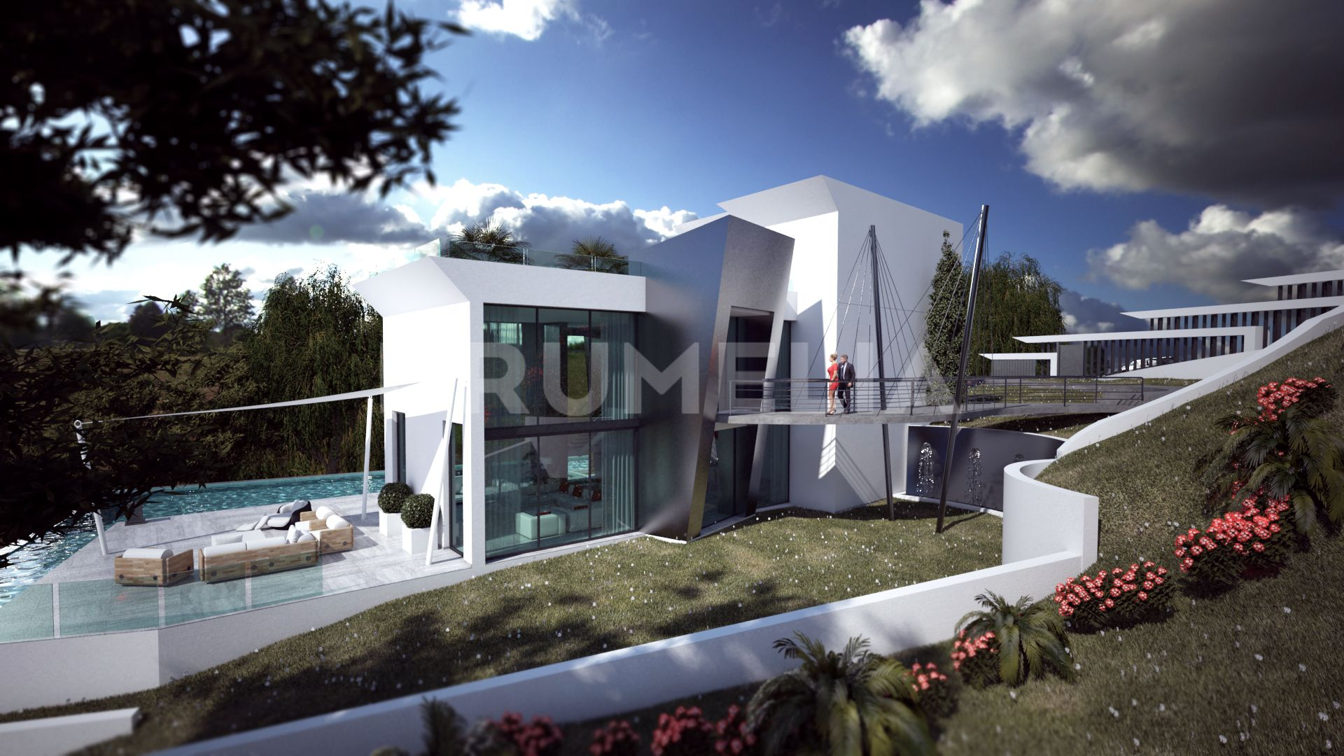 Benahavis, Amazing New Contemporary Style Luxury Villa, Los Flamingos, Benahavis