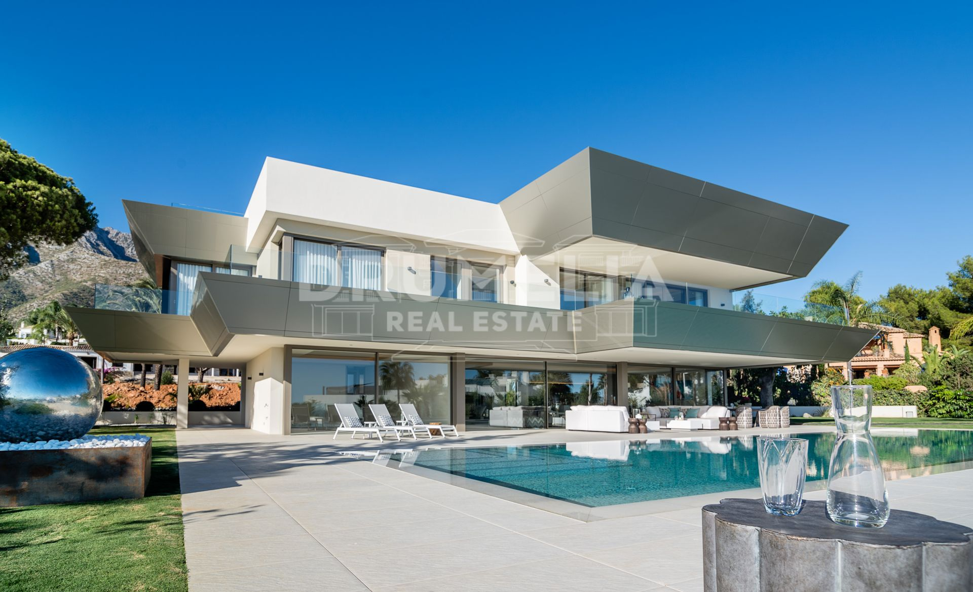 Marbella Golden Mile, Unique and Spectacular New High-Tech Contemporary Villa, Nagüeles, Marbella Golden Mile (Marbella)