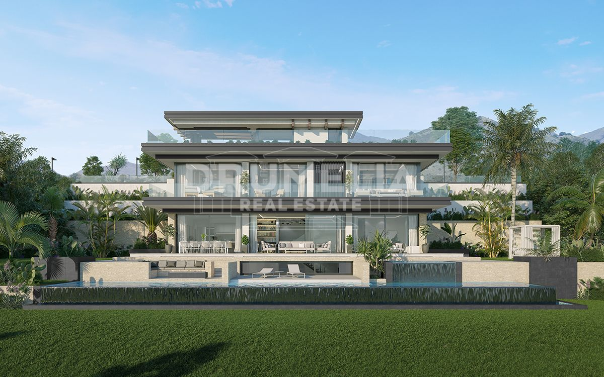 Marbella East, Brand-New Stunning Contemporary Luxurious Villa (Project), Elviria, Marbella East (Marbella).